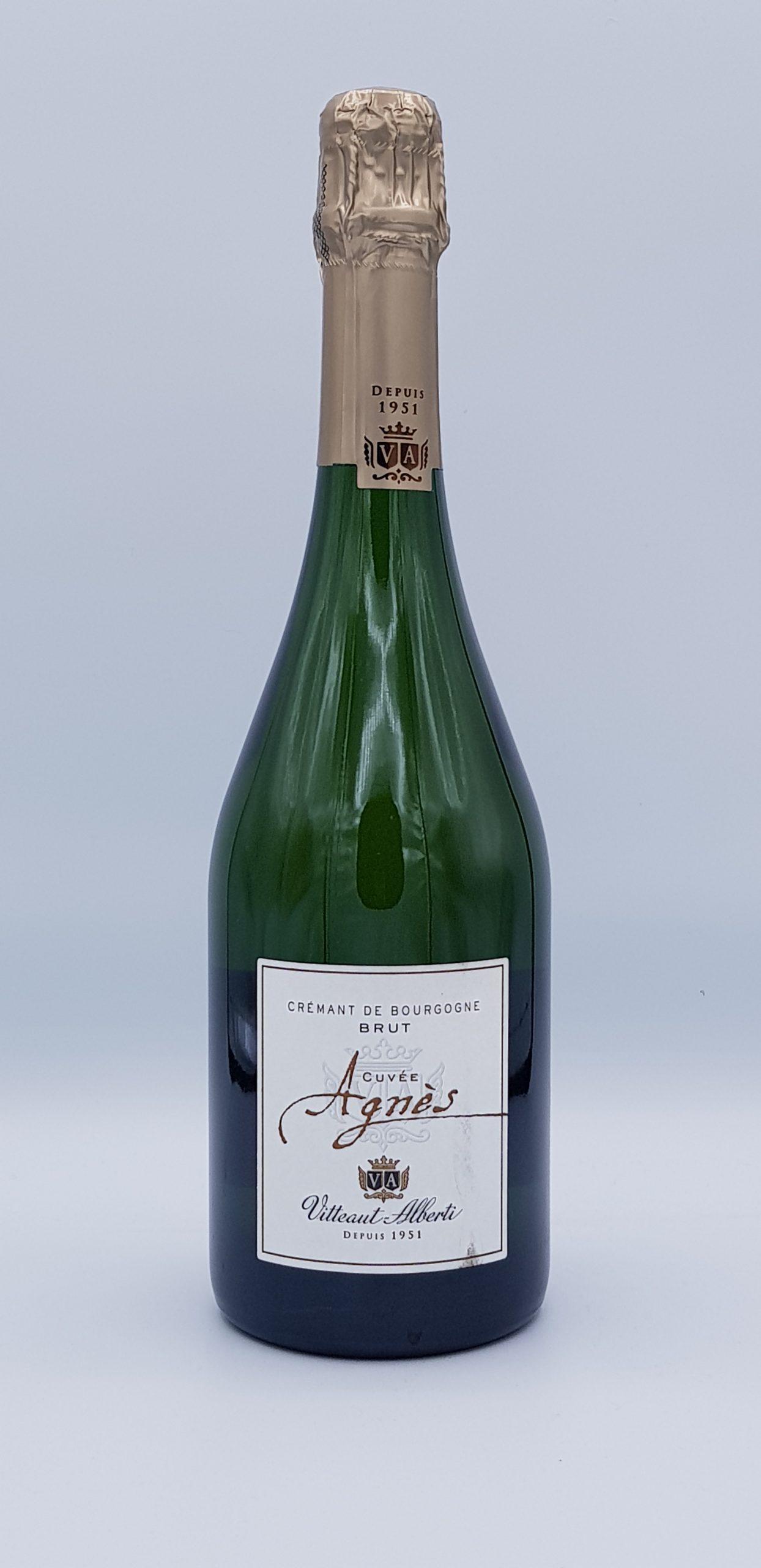 Cremant De Bourgogne Cuvee Agnes Vitteaut Alberti