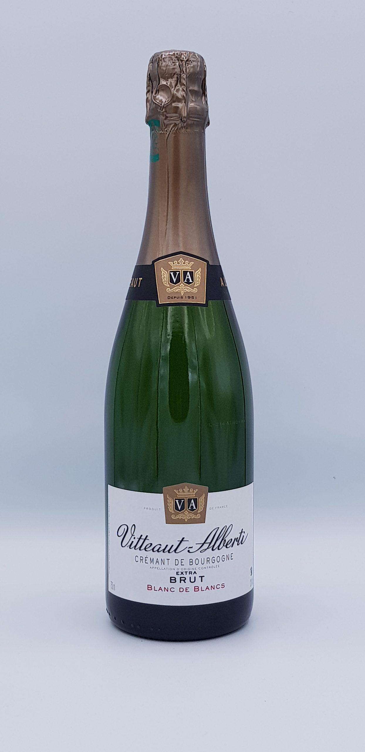Cremant De Bourgogne Blanc De Blanc Extra Brut Vitteaut Alberti