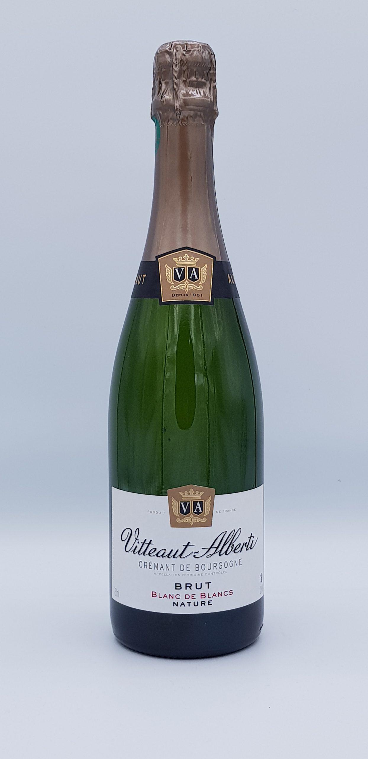 Cremant De Bourgogne Blanc De Blanc Nature Vitteaut Alberti