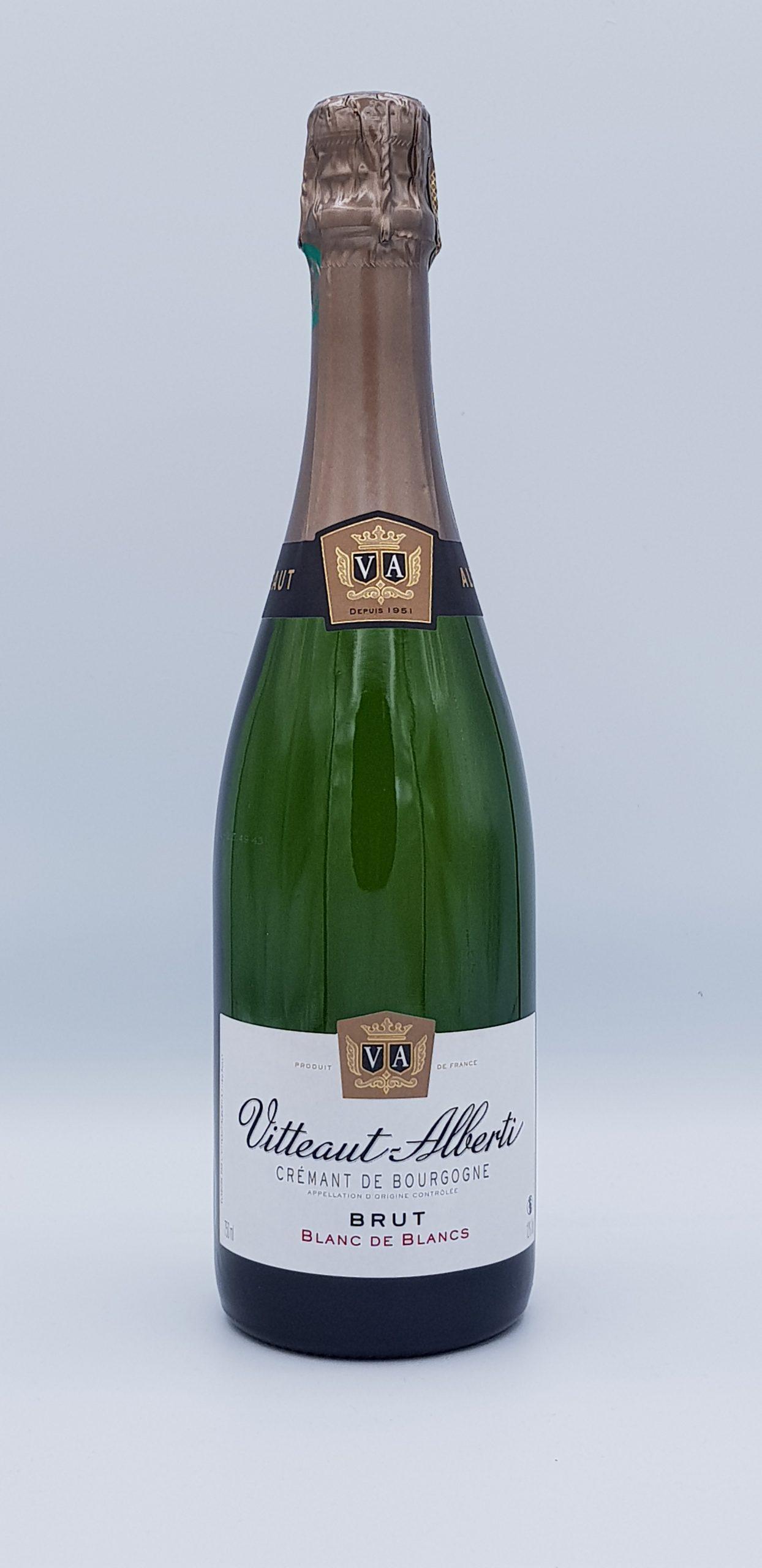 Cremant De Bourgogne Blanc De Blanc Vitteaut Alberti