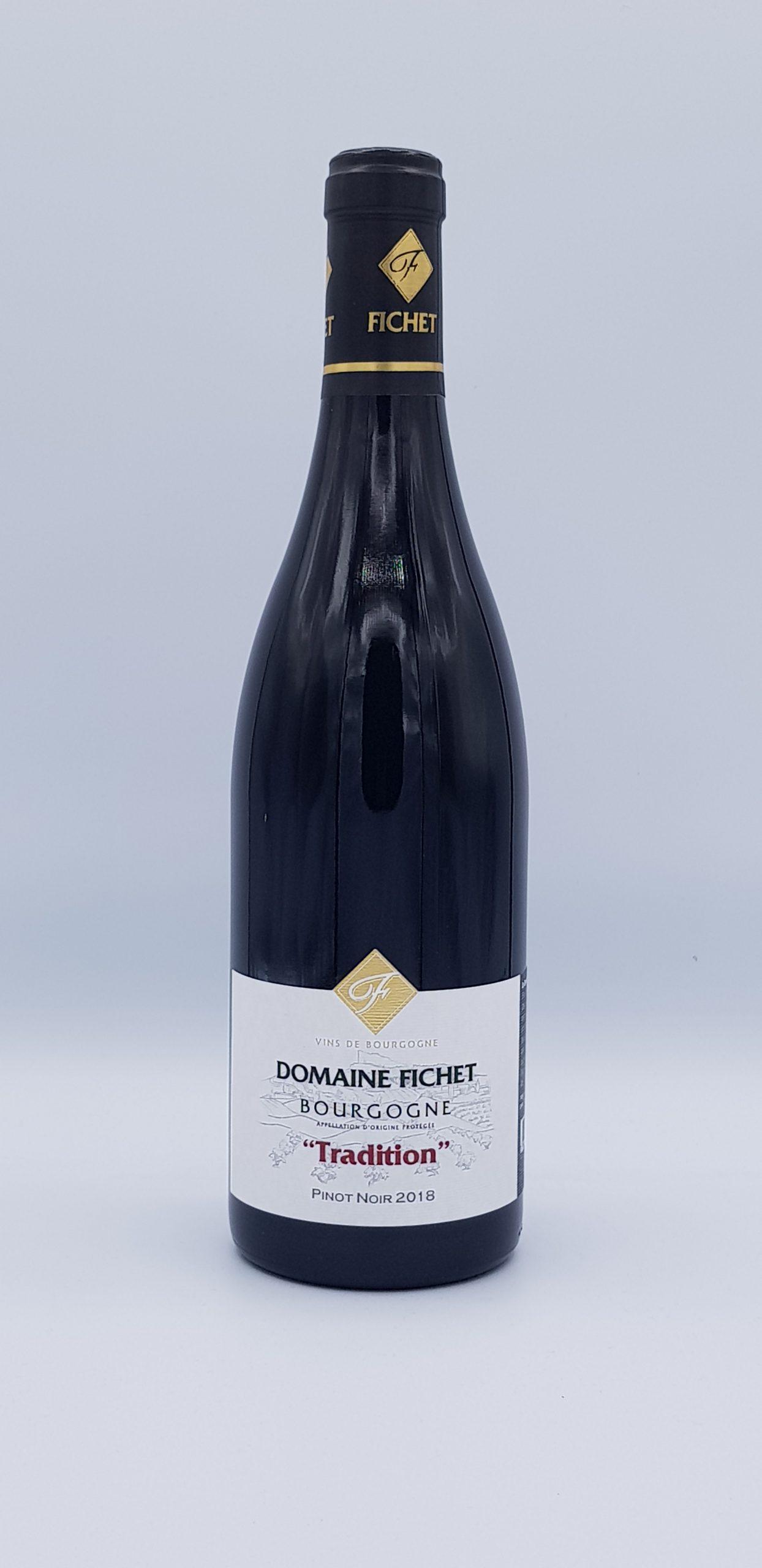 Bourgogne Pinot Noir 2018  Tradition Fichet