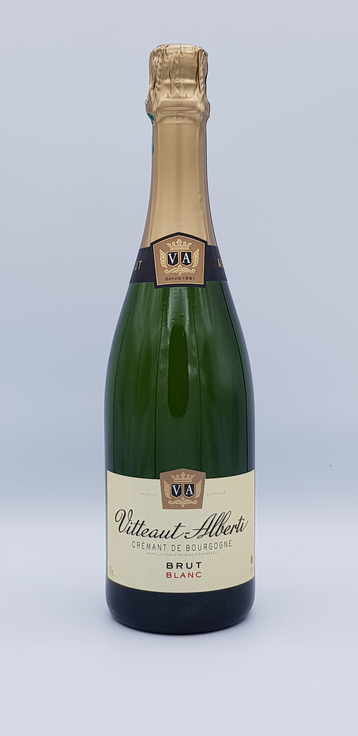 Cremant De Bourgogne Brut Blanc Vitteaut Alberti