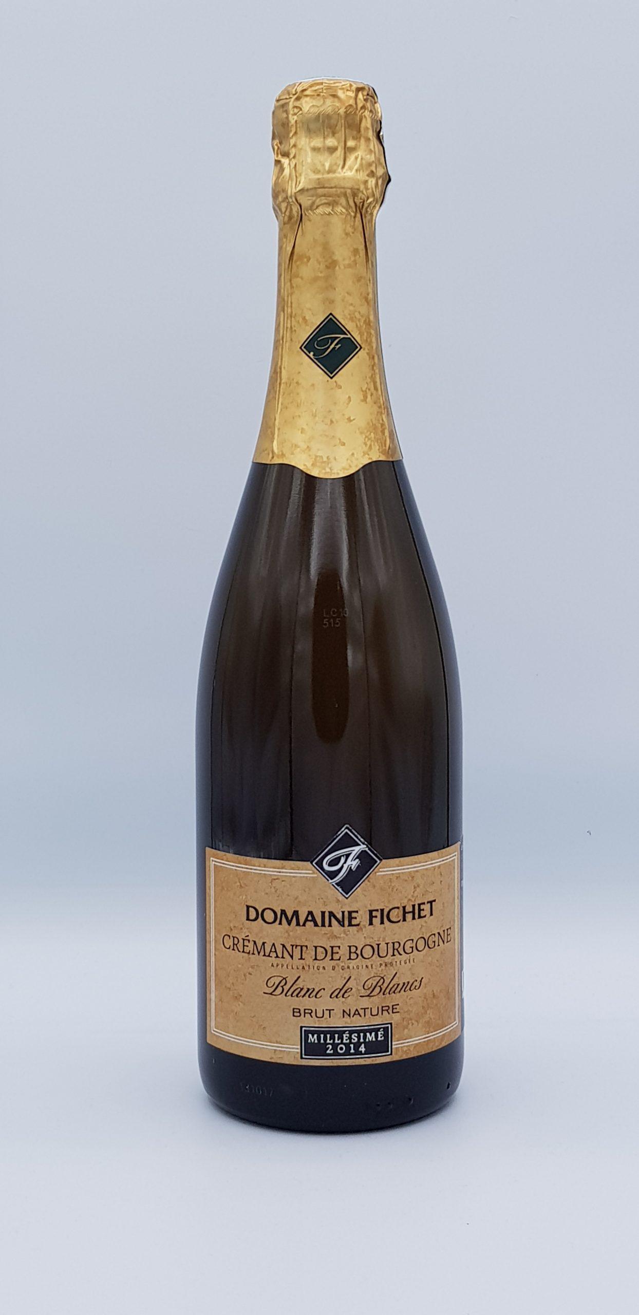 Cremant De Bourgogne Brut Blanc 2014 Millesime Dom Fichet