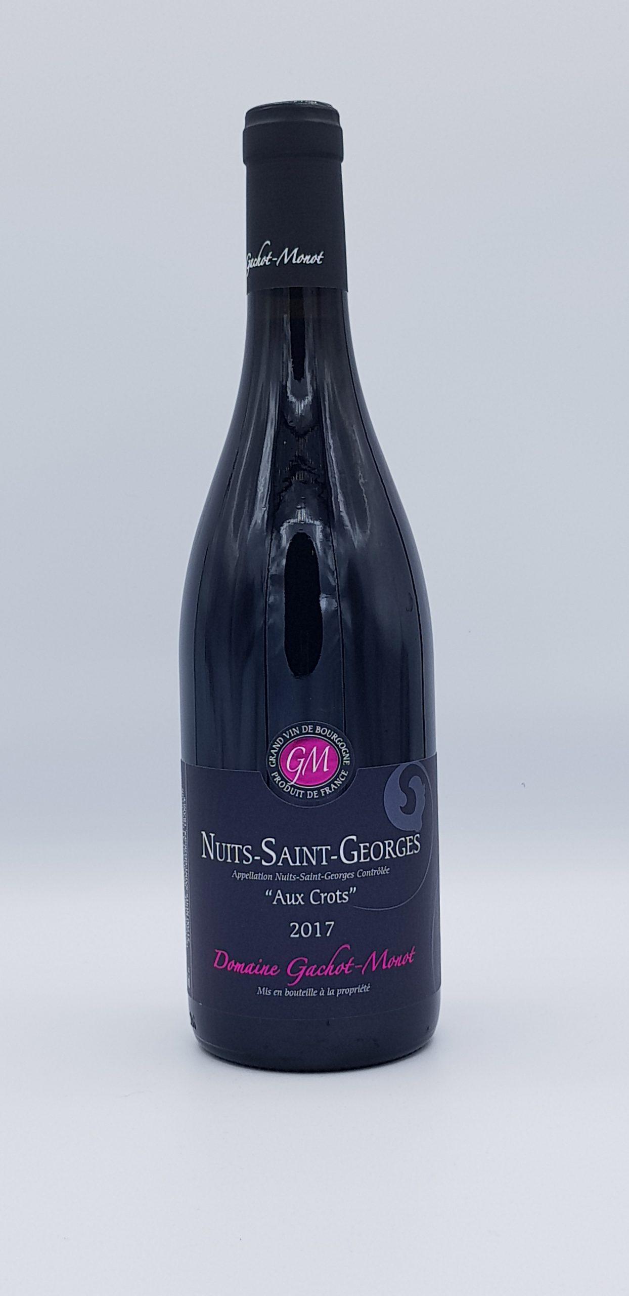 Bourgogne Nuits St Georges 2017 Rouges Aux Crots