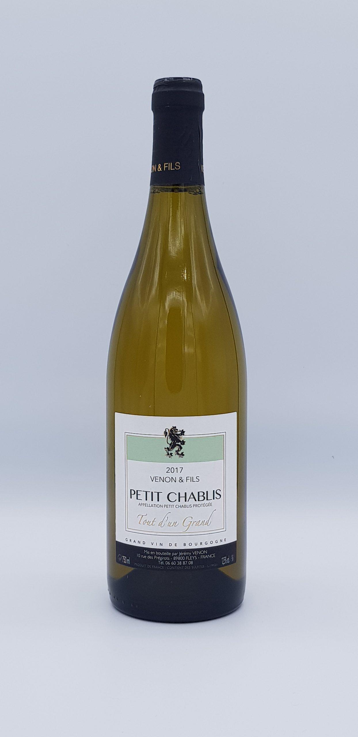 Bourgogne Petit Chablis 2017