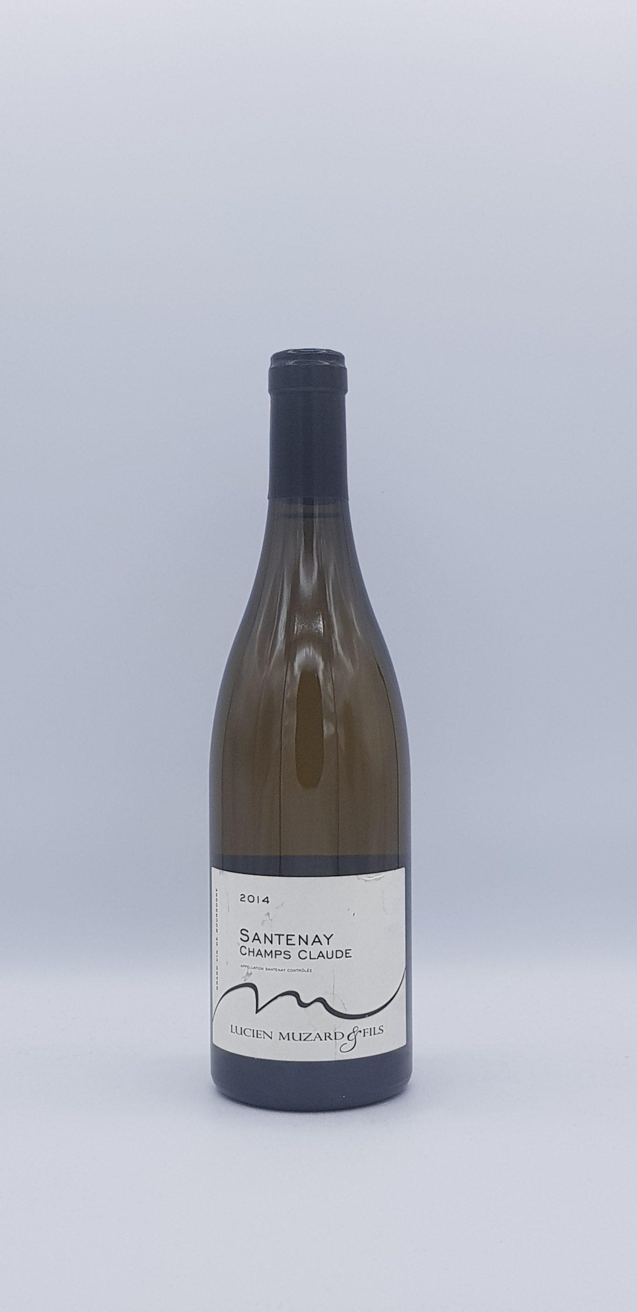 """Santenay """"Champs Claude"""" Vieilles Vignes 2014 Blanc"""
