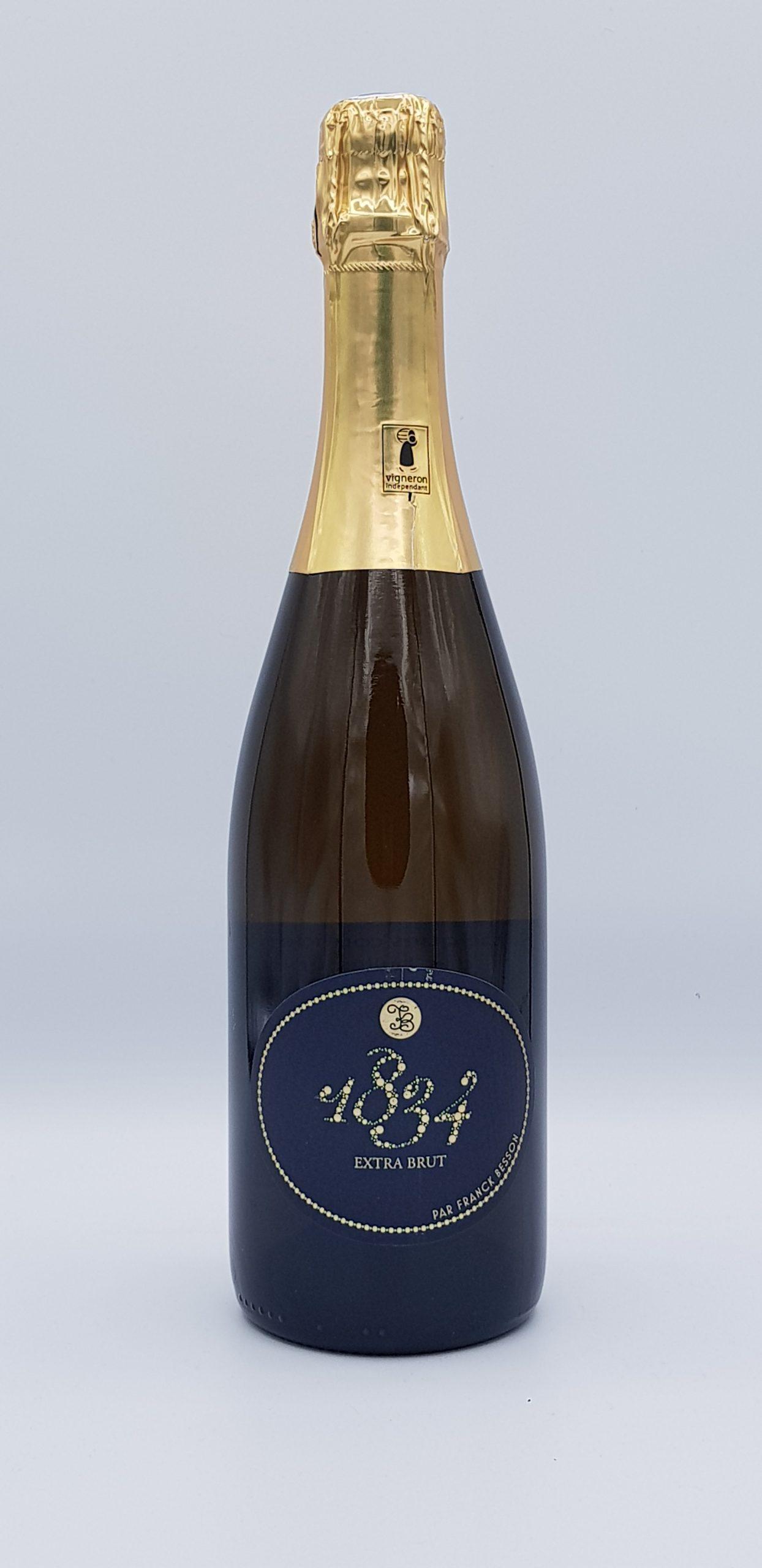 Bourgogne Methode Traditionnel Extra Brut 1834 Dom Besson