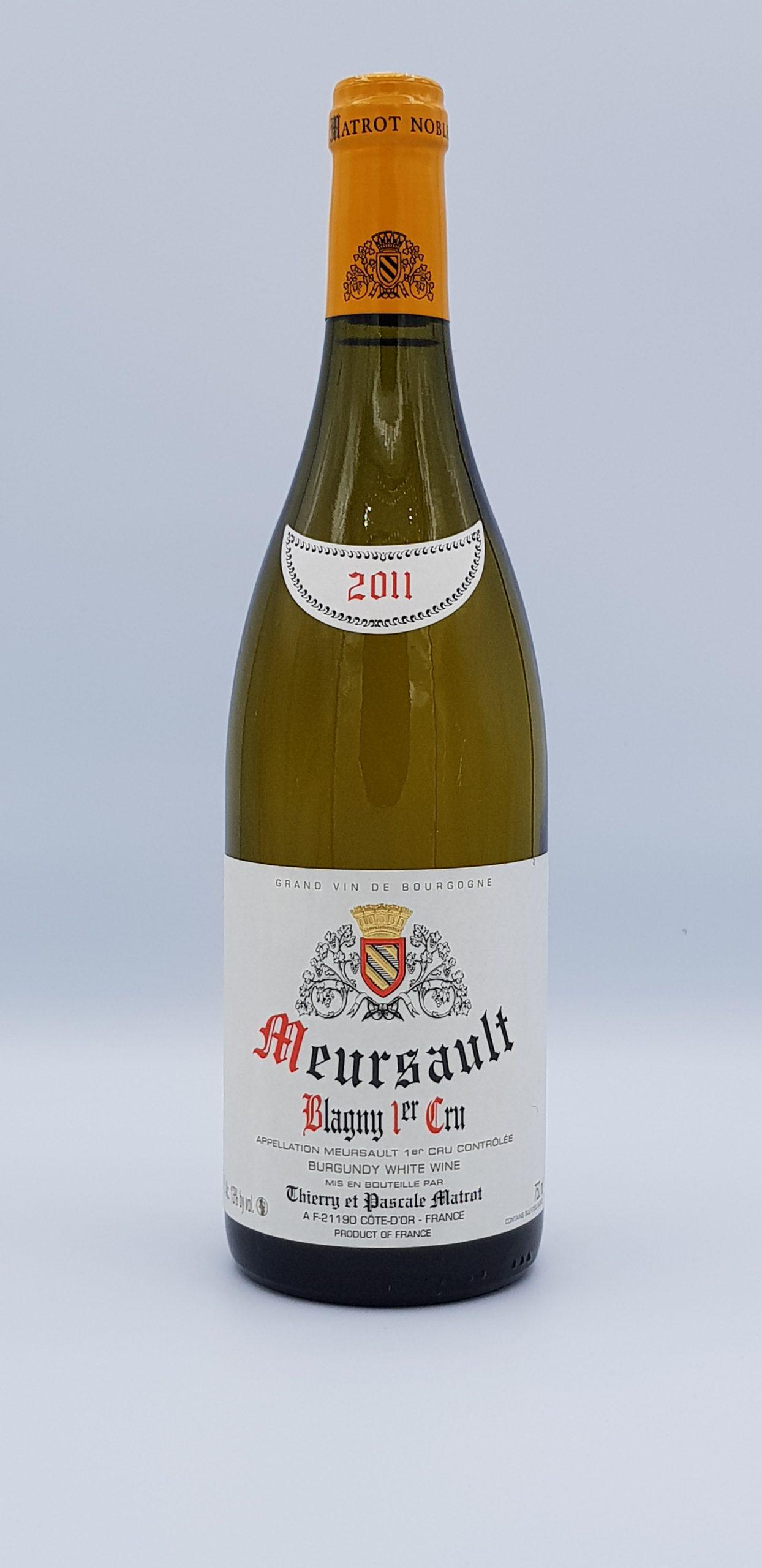 """Meursault 1er Cru """"Blagny"""" 2011 Blanc"""