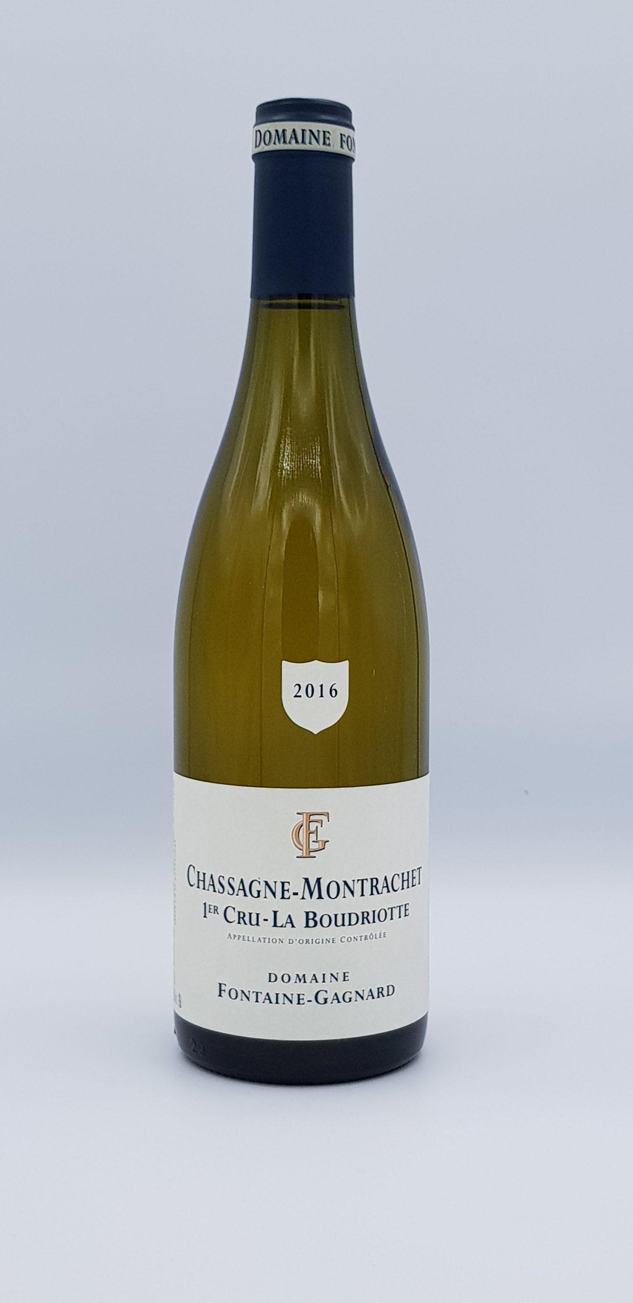 Bourgogne Chassagne Montrachet 2016 Caillerets  Dom Fontaine Gagnard