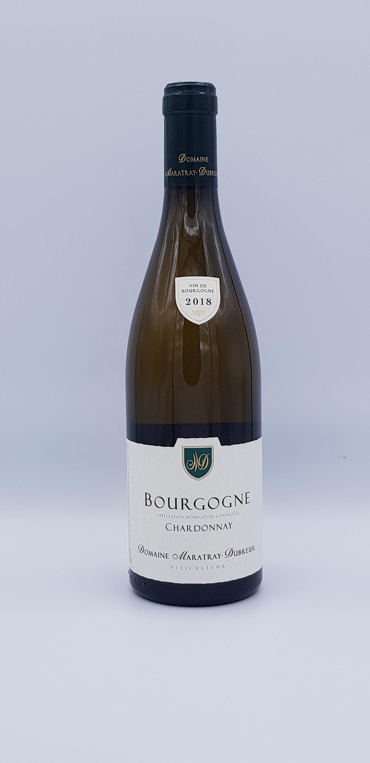 Bourgogne Chardonnay 2018 Blanc