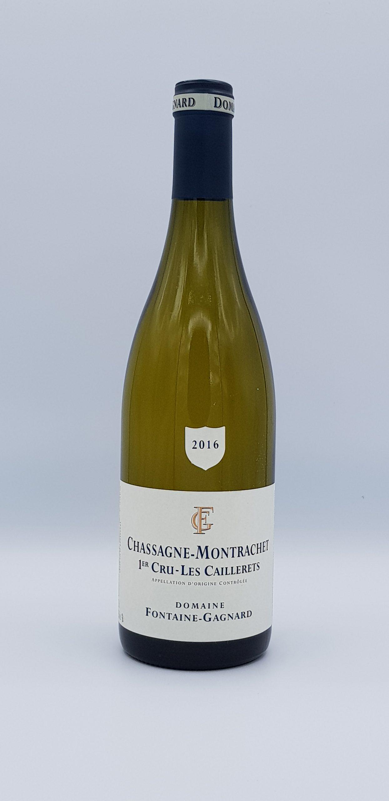 Bourgogne Chassagne Montrachet 2016 Boudriottes Dom Fontaine Gagnard