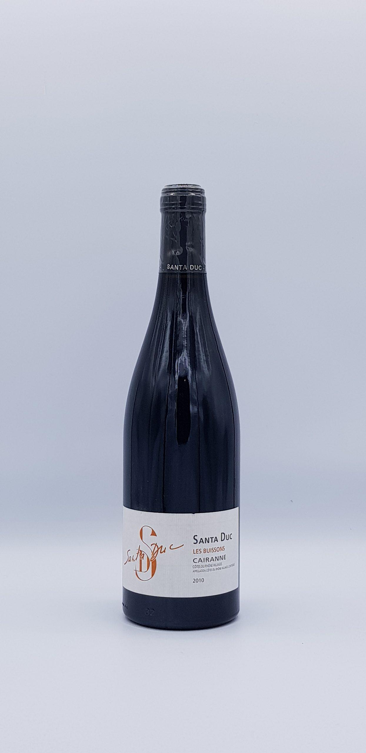 """Côte Du Rhône """"Cairanne"""" 2010 Rouge"""