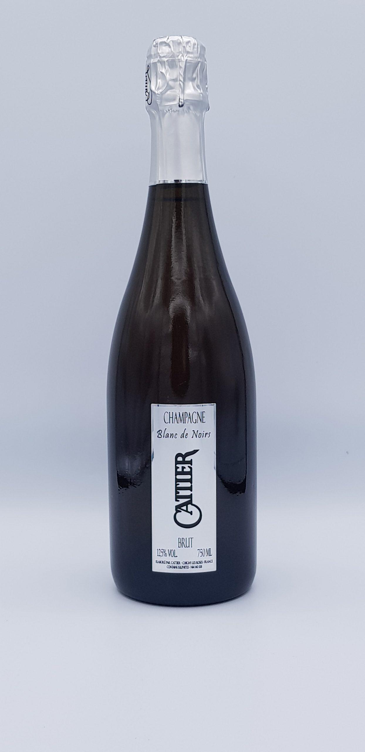 Champagne Cattier Brut Blanc De Noir