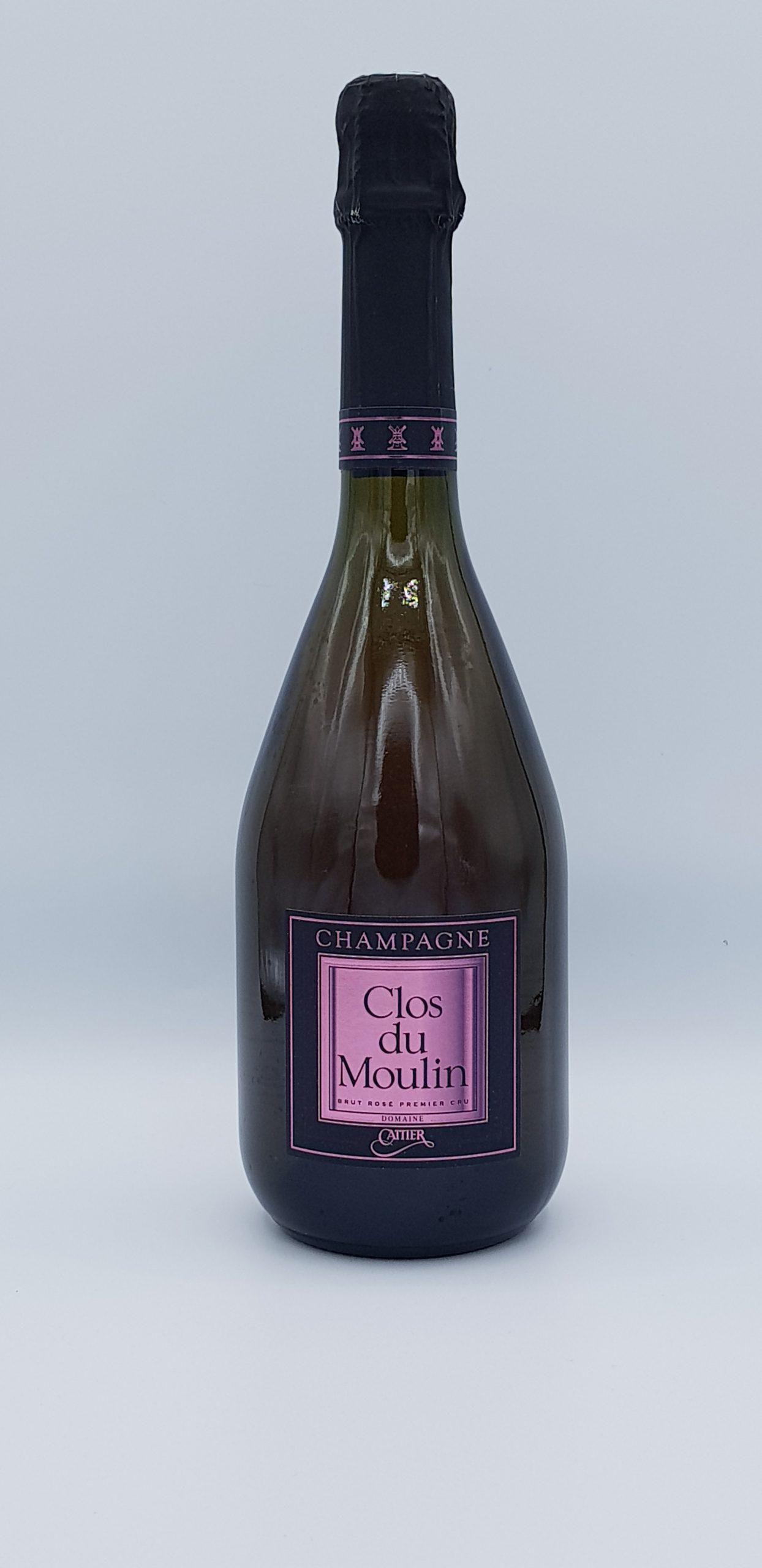 Champagne Cattier Brut Clos Du Moulin Rose