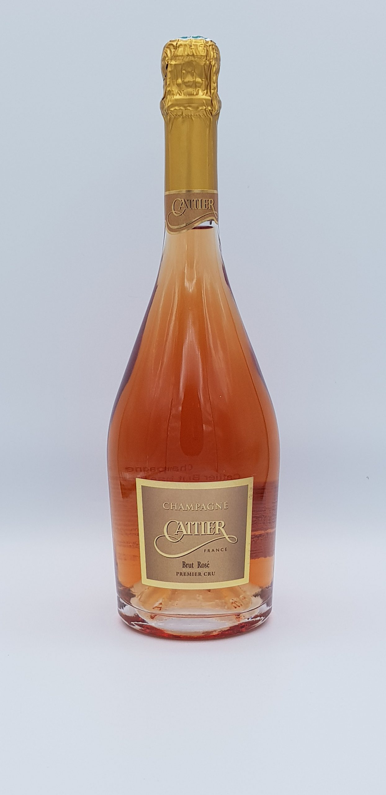 Champagne Cattier Brut Rose 1Er Cru