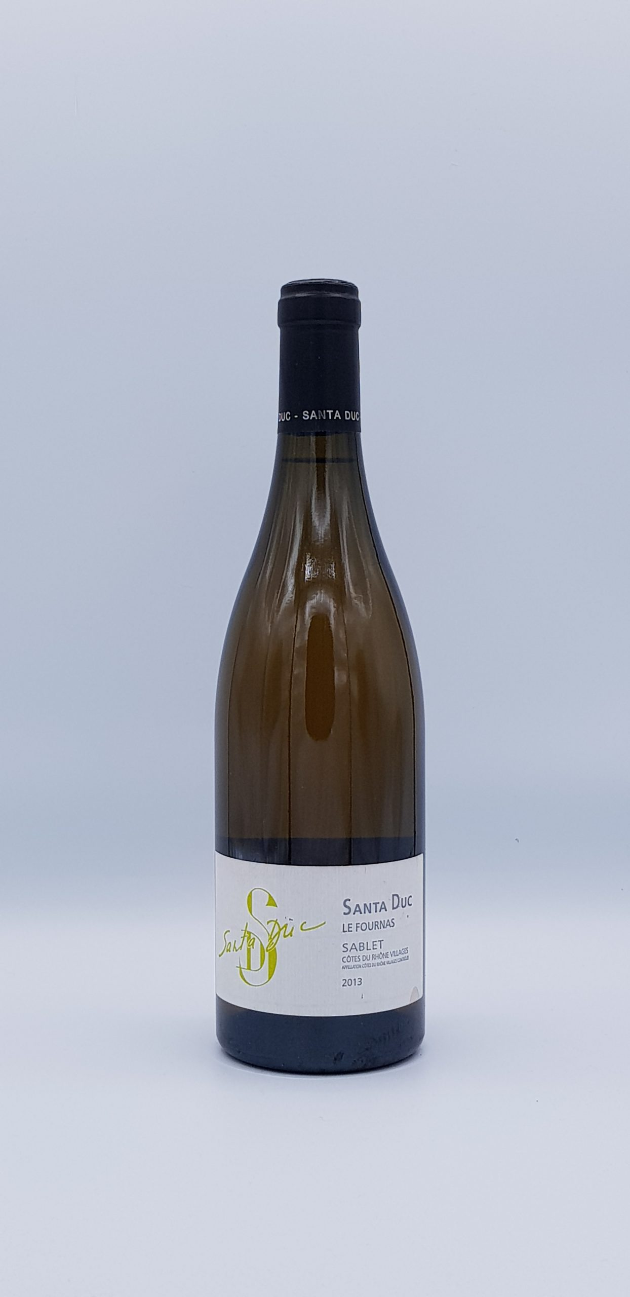 "Côte Du Rhône Sablets ""Les Fournas"" Blanc 2013"