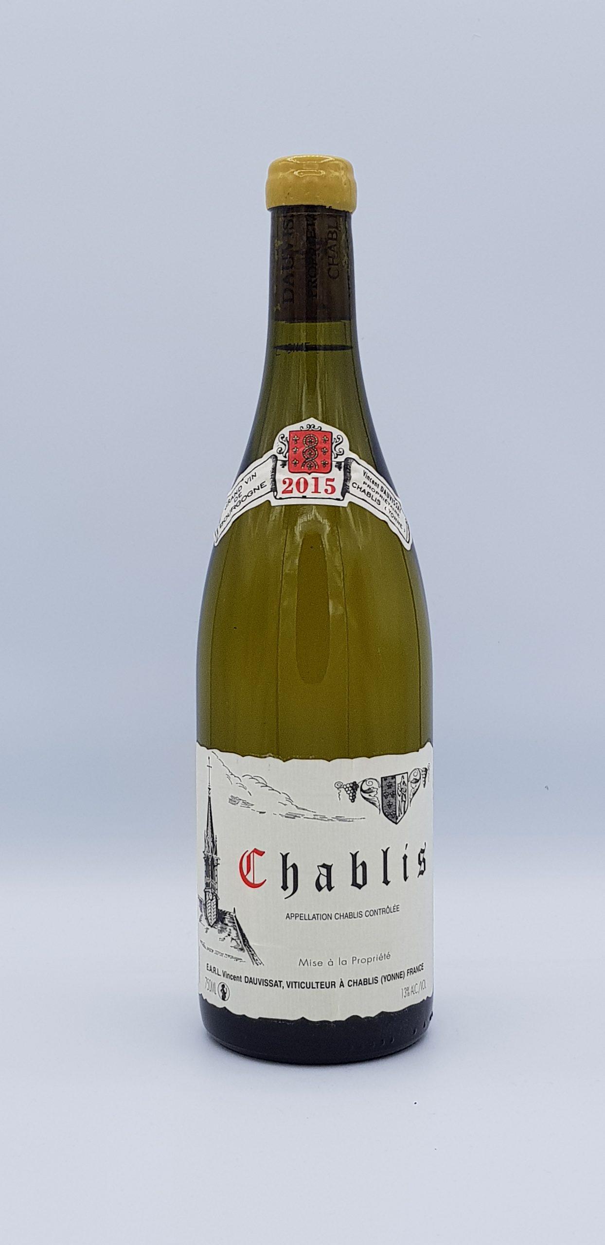 Bourgogne Chablis 2015