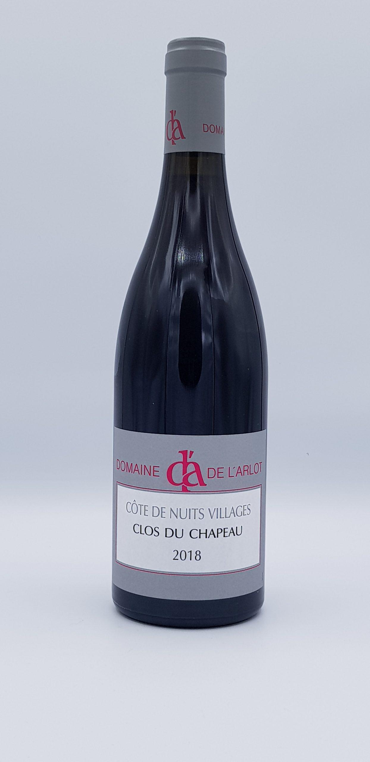 """Côtes de Nuits Village """"Clos du Chapeau"""" 2018 Rouge"""