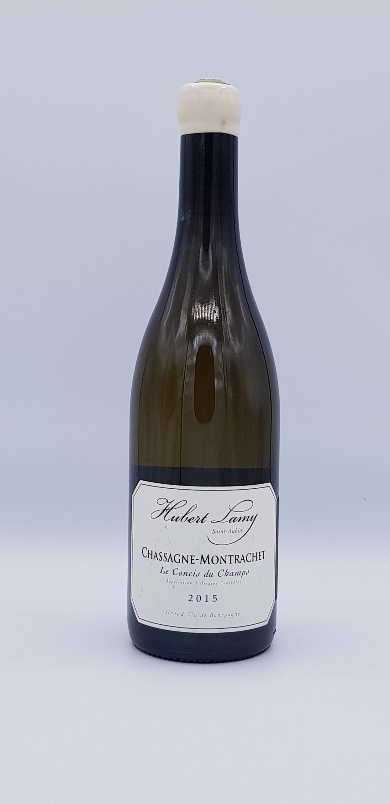 Bourgogne Chassagne Montrachet 2015 Concis Du Champs Dom H Lamy