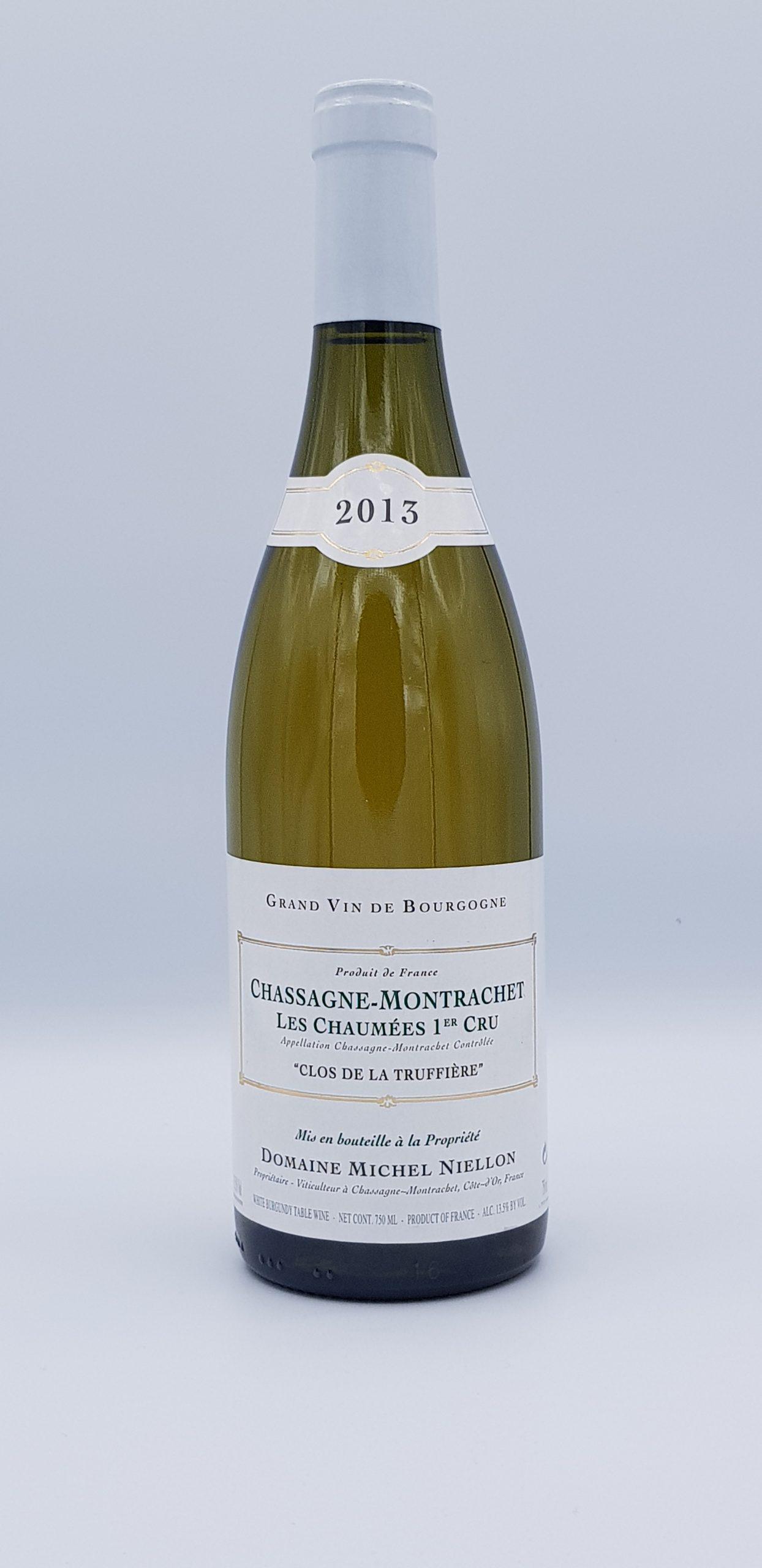 Bourgogne Chassagne Montrachet 1Er Cru Les Chaumee Clos De La Truffiere 2013 Dom Niellon
