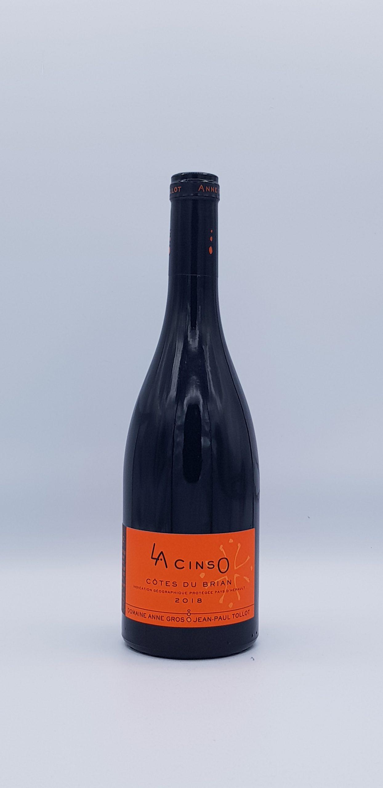 """Côtes du Briand """"Cinso"""" 2018 Rouge"""