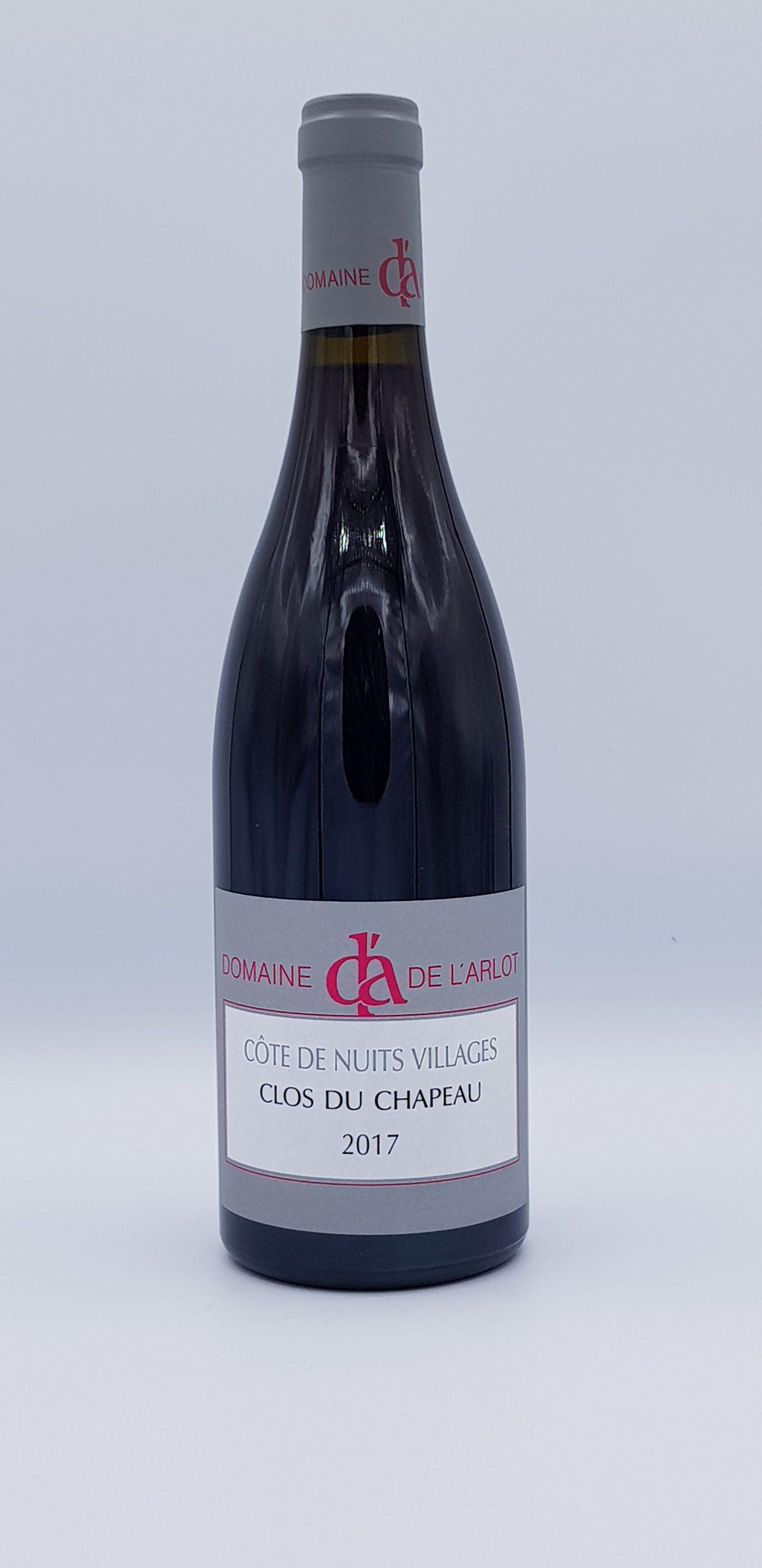 """Côtes de Nuits Village """"Clos du Chapeau"""" 2017 Rouge"""