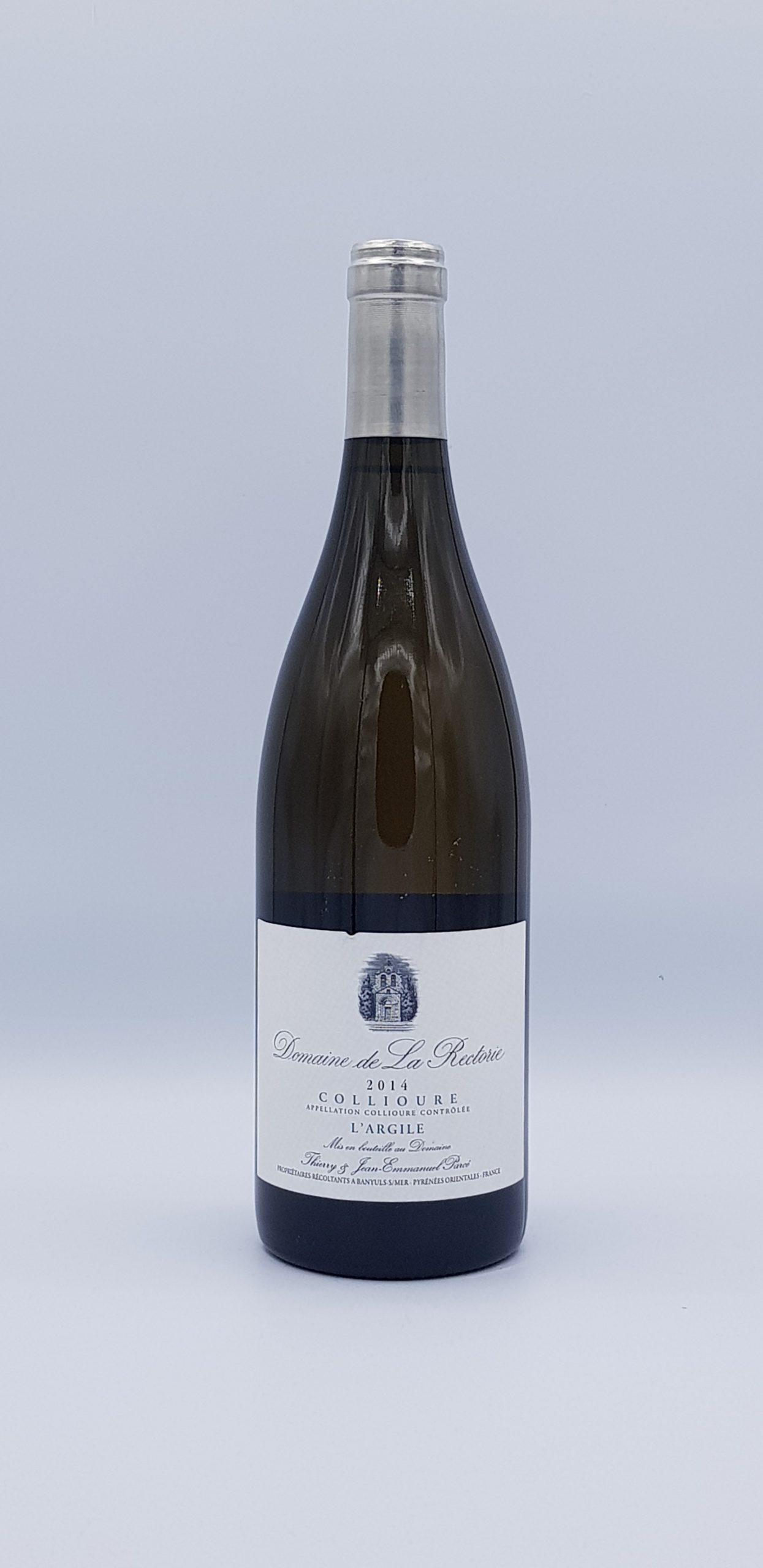 """Collioure """"L'Argile"""" 2014 Blanc"""