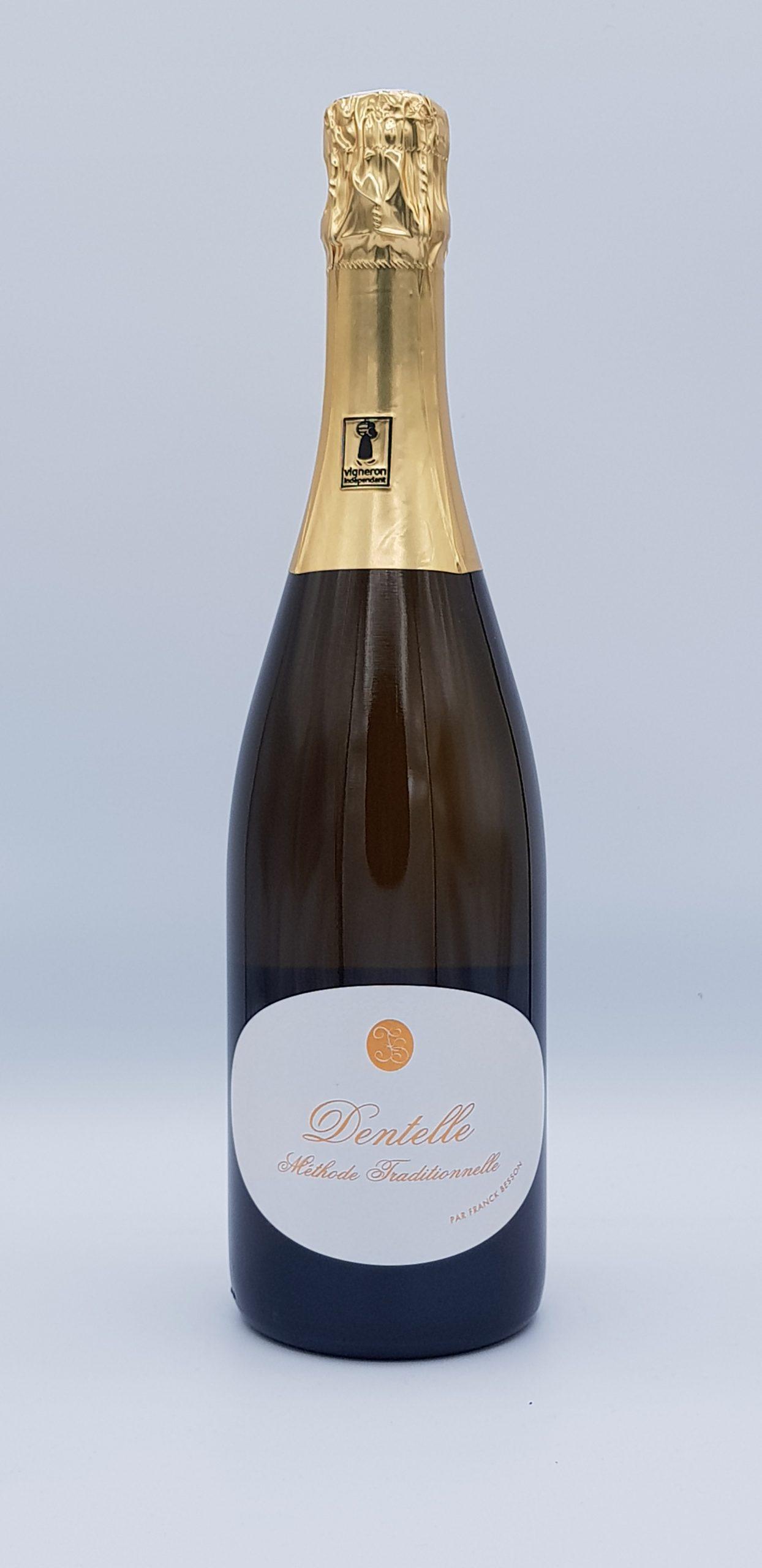 Bourgogne Methode Traditionnel Blanc De Noir Dentelle Dom Besson