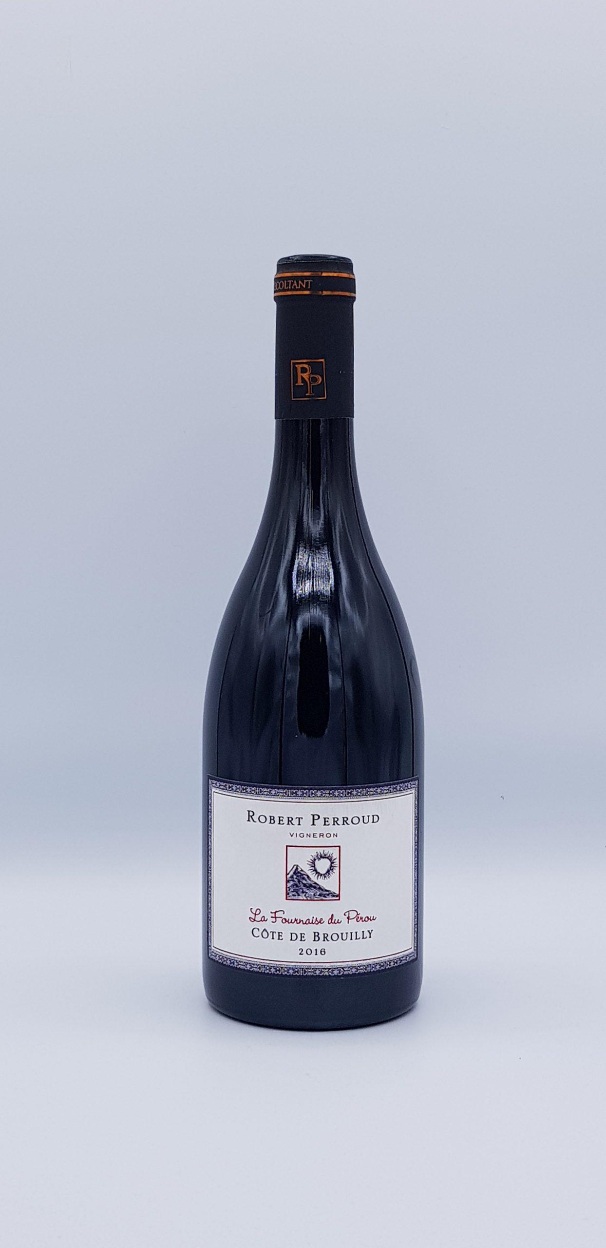"""Beaujolais Cote De Brouilly """"Fournaise Du Perou"""" 2016"""