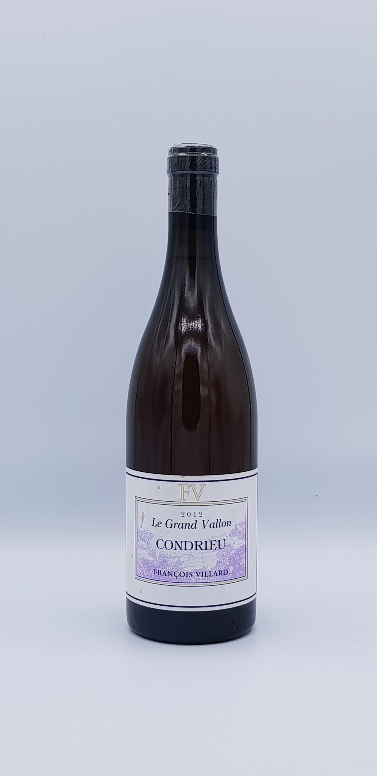 Rhone Condrieu 2012 Blanc Grand Vallon