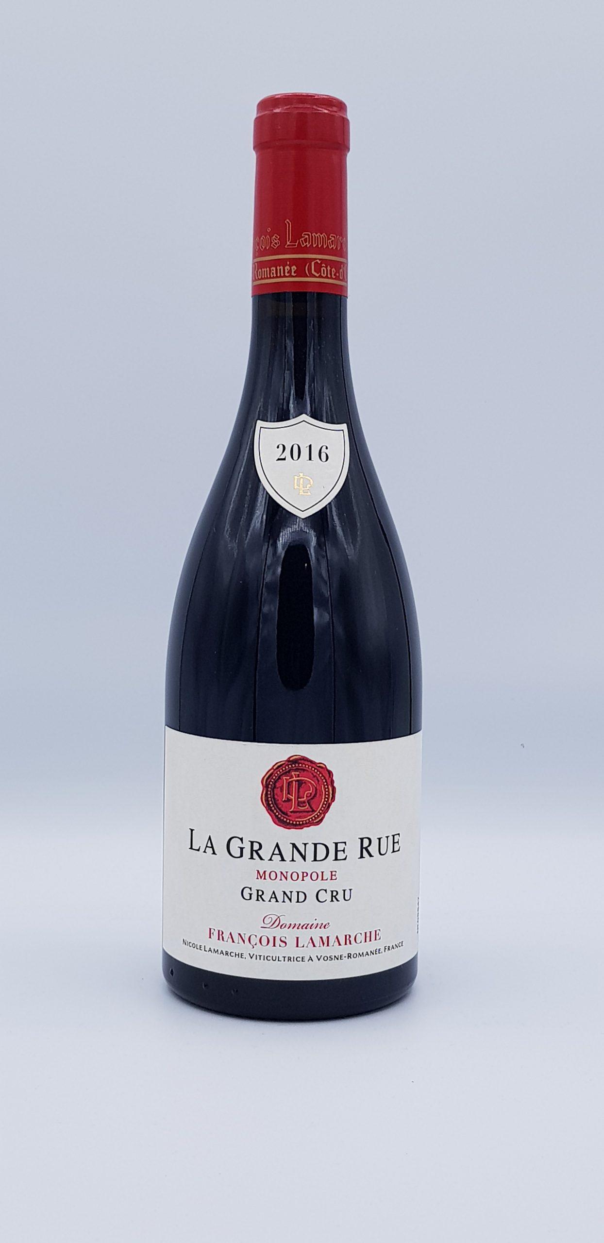 Grande Rue Grand Cru 2016 Rouge