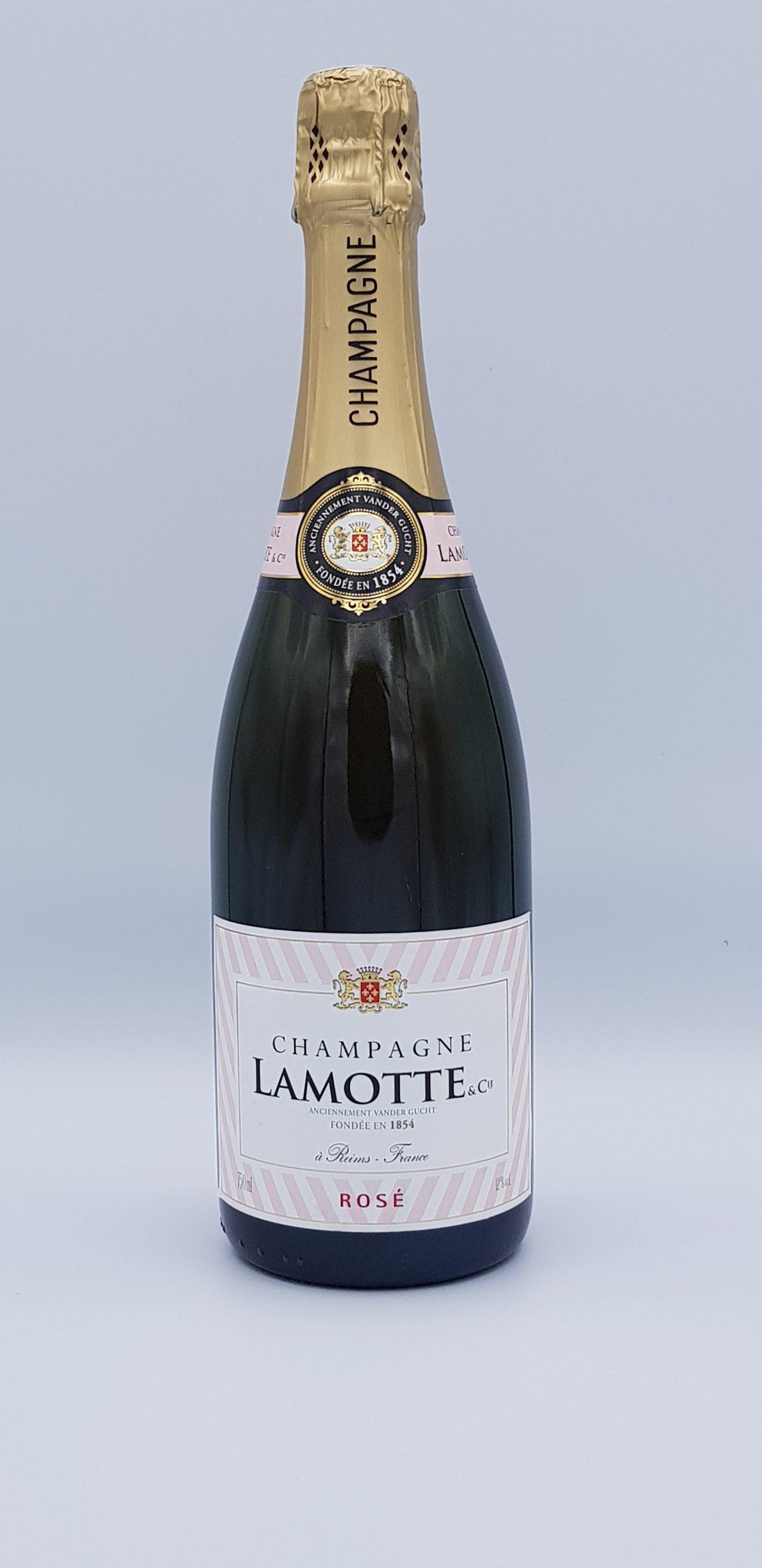 Champagne Lamotte Rose