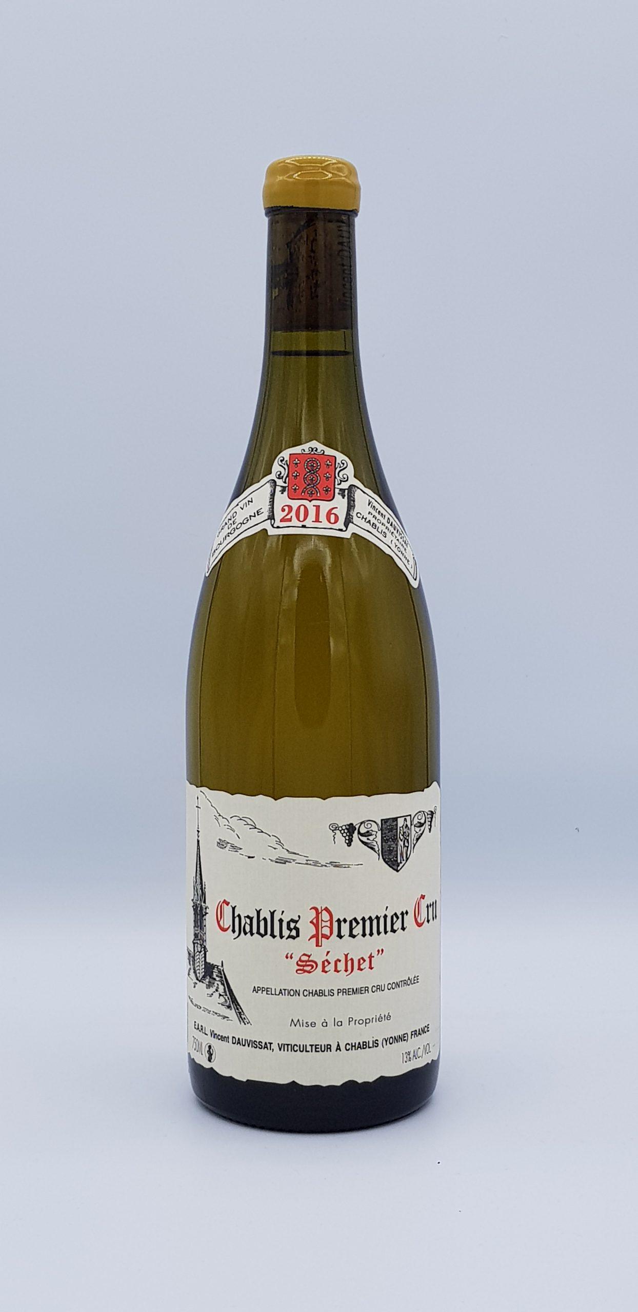 Bourgogne Chablis 2016 1er cru Lechet