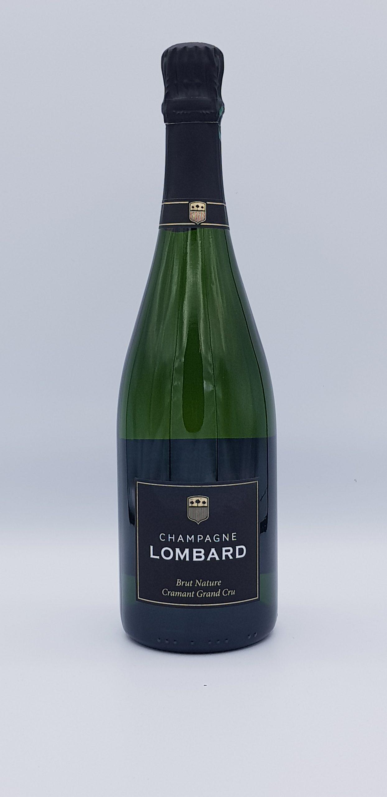 Champagne Lombard Brut Nature Grd Cru Cramant