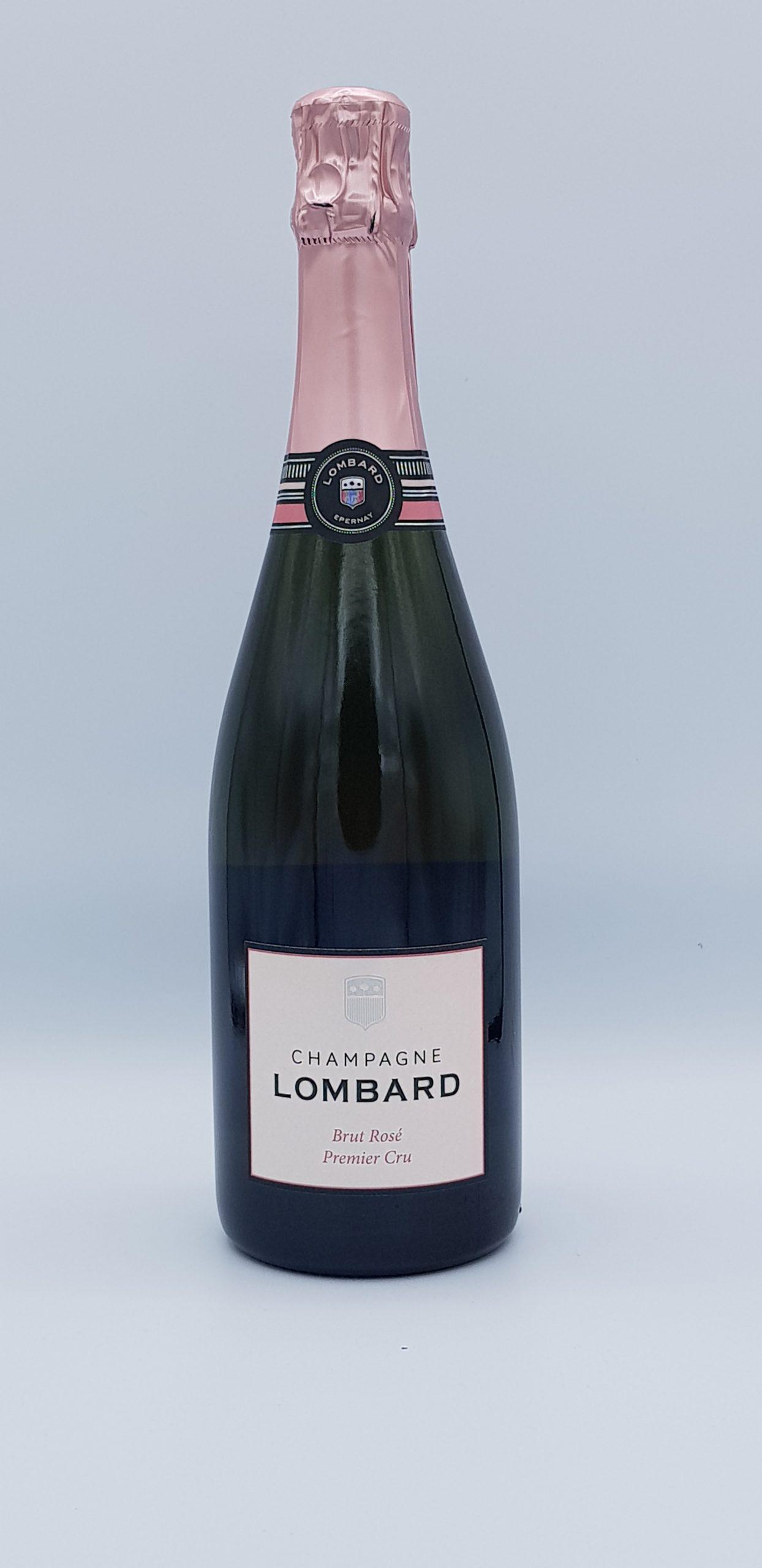 Champagne Lombard Brut 1Er Cru Rose