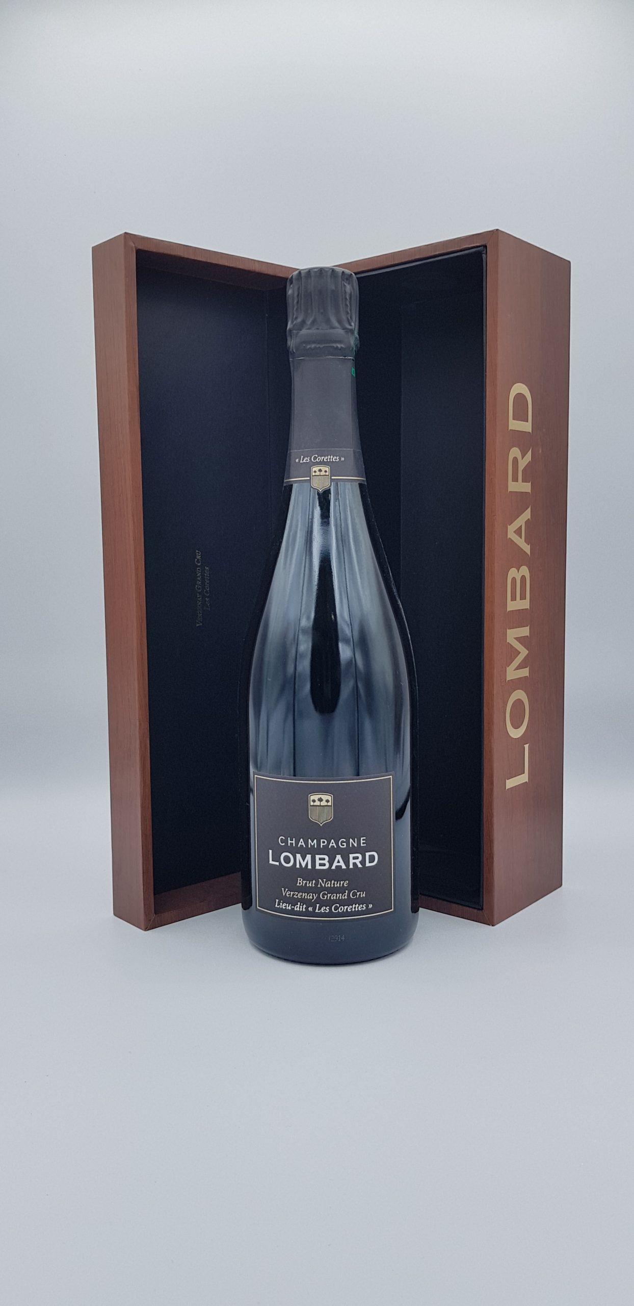 "Champagne Lombard Brut Nature Grd Cru Rose ""Les Marquises"""