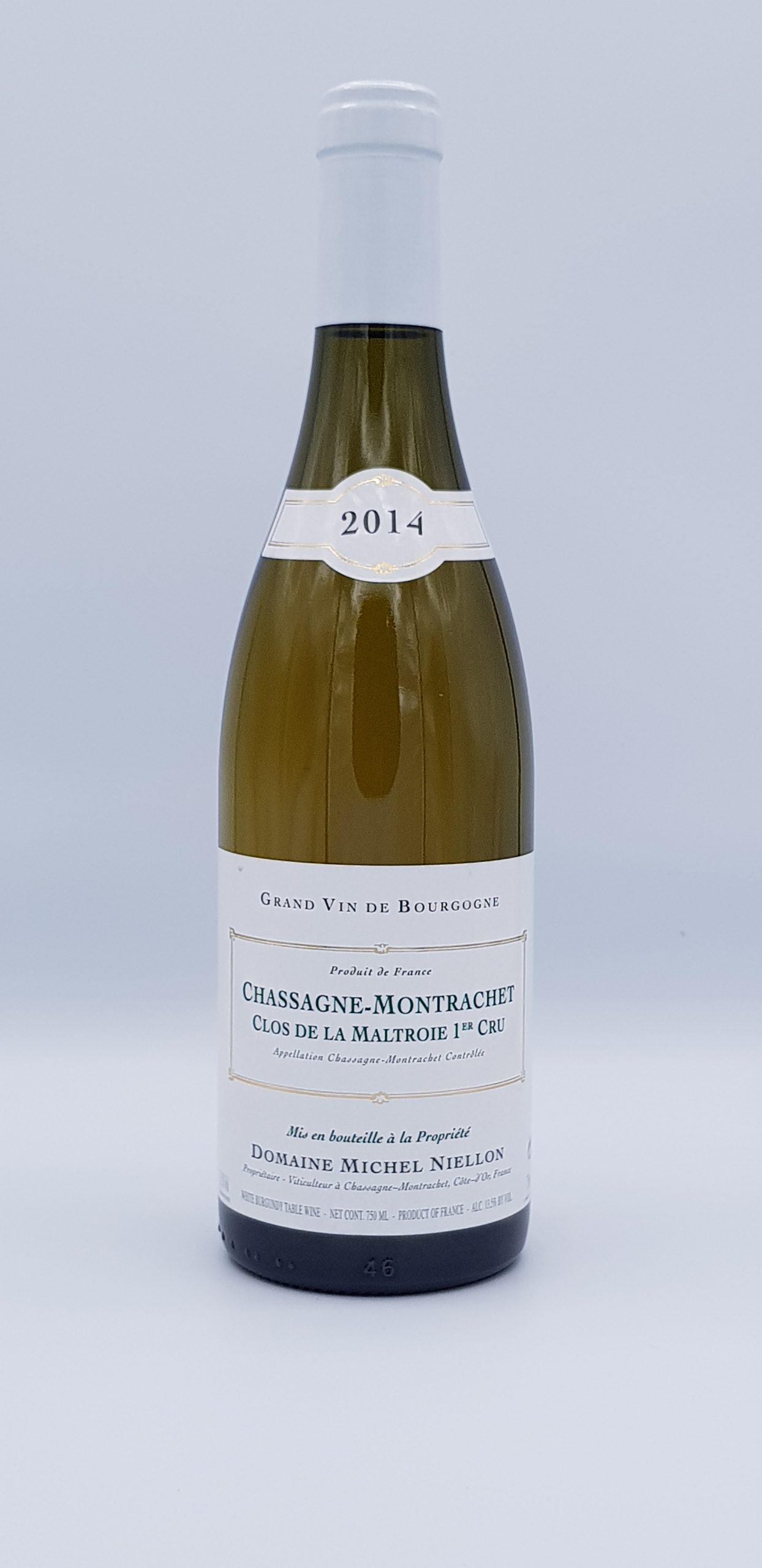 Bourgogne Chassagne 1Er Cru 2014 Maltroie Dom Niellon