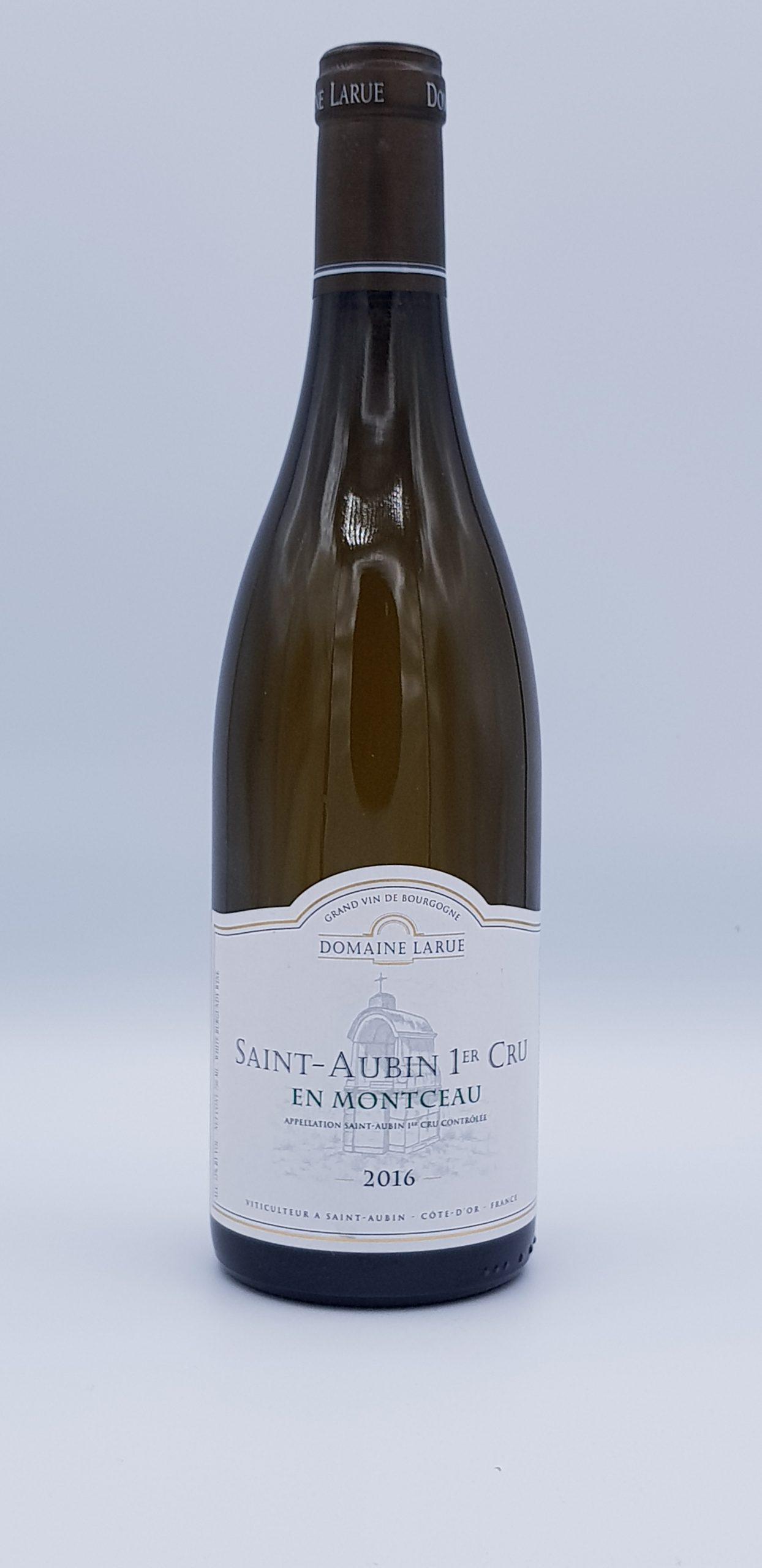 """Saint Aubin 1er Cru  """"En Montceau"""" 2016 Blanc"""