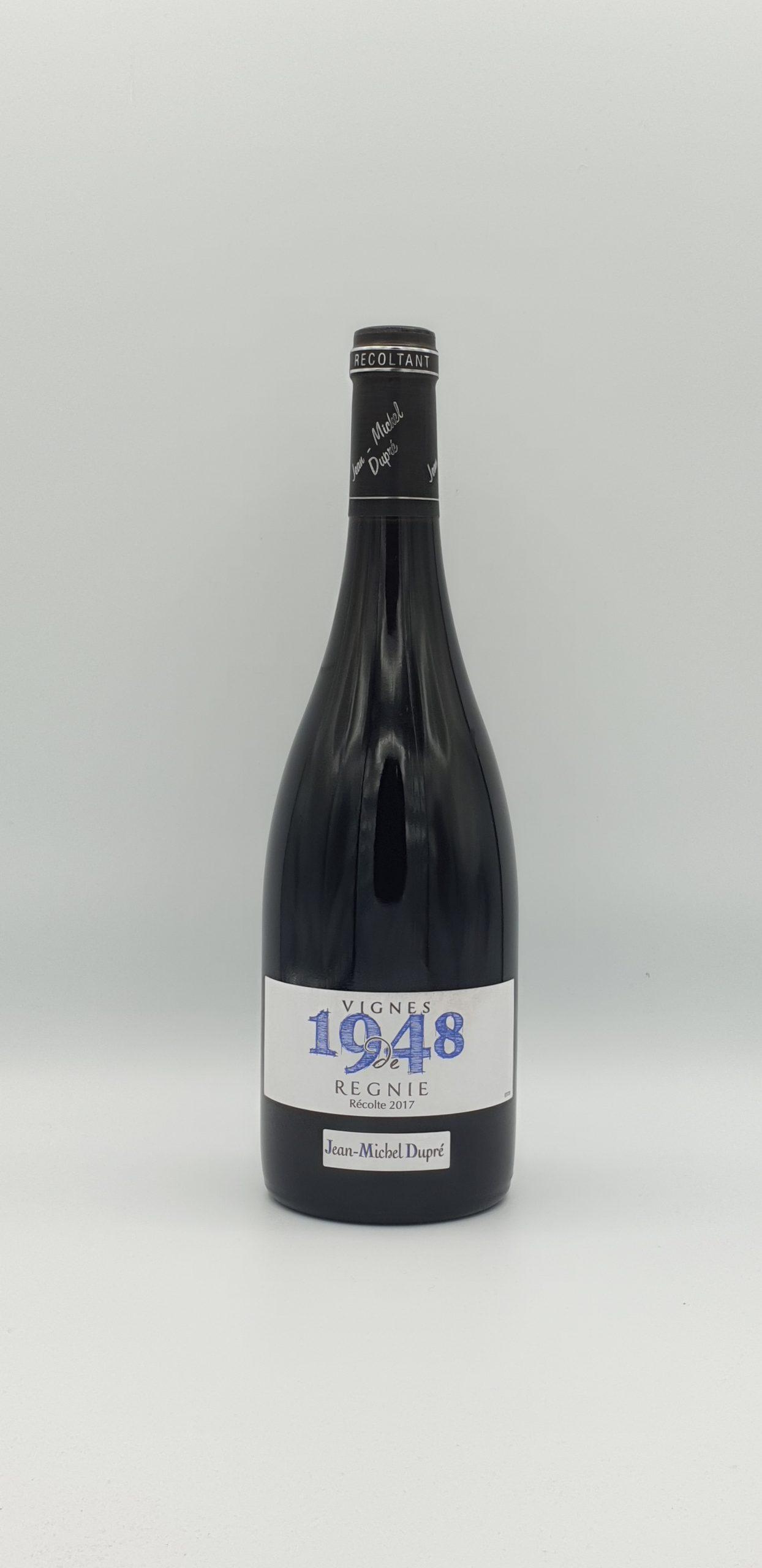"""Beaujolais Regnie """"Vignes De 1948"""" 2017"""