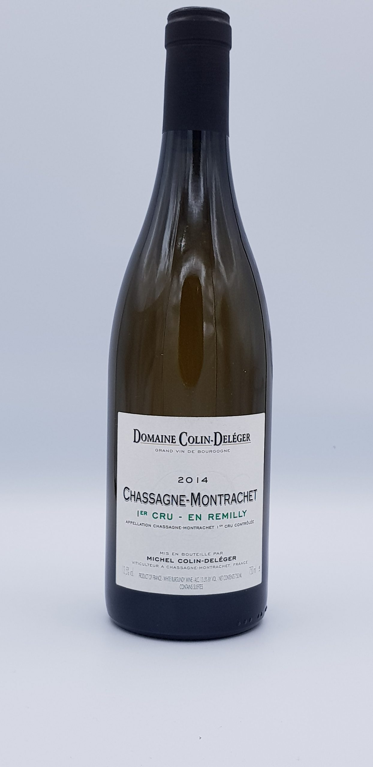 Bourgogne Chassagne 1Er Cru Remilly 2014 Dom Colin Deleger