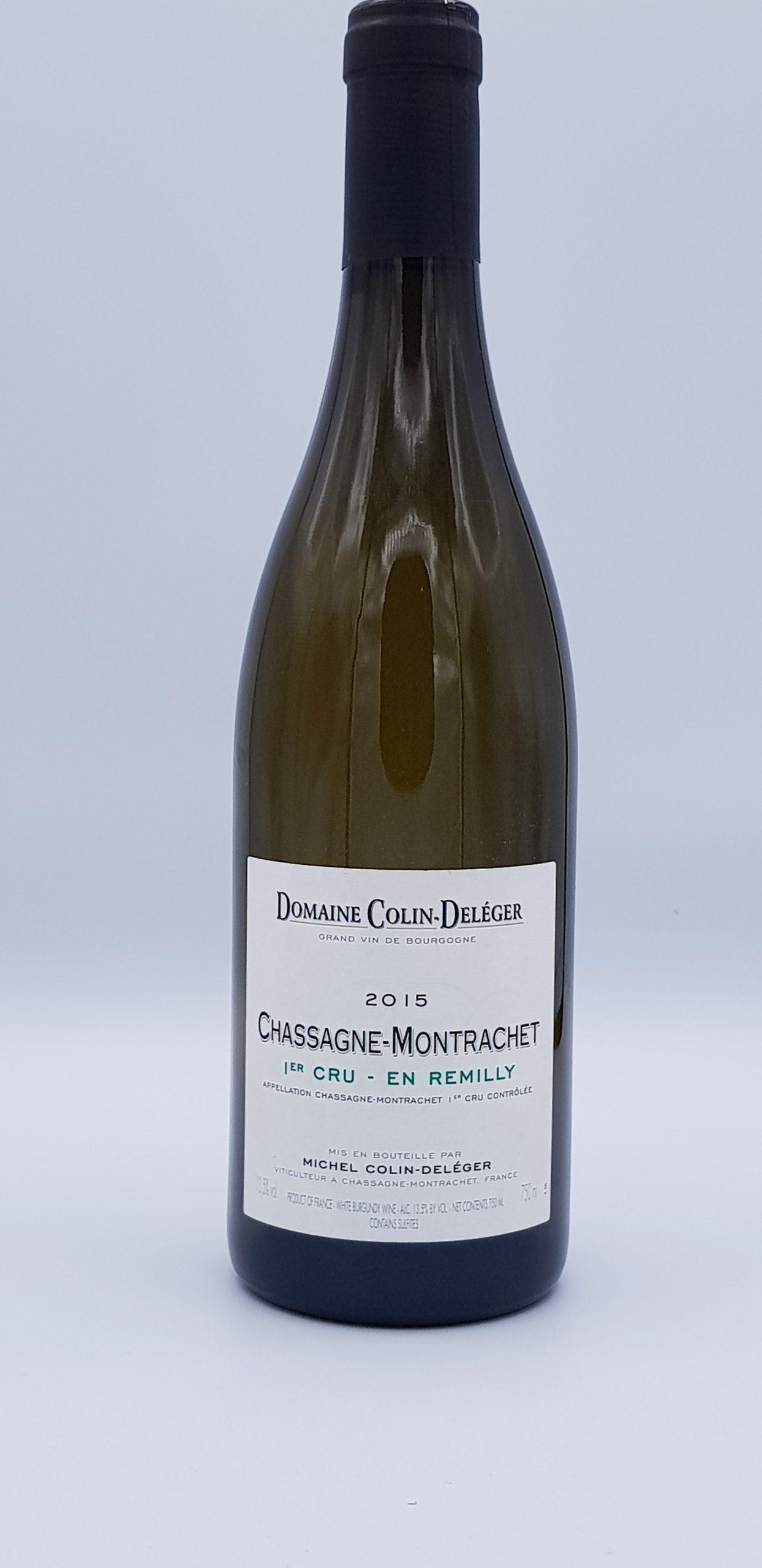 Bourgogne Chassagne 1Er Cru Remilly 2015 Dom Colin Deleger