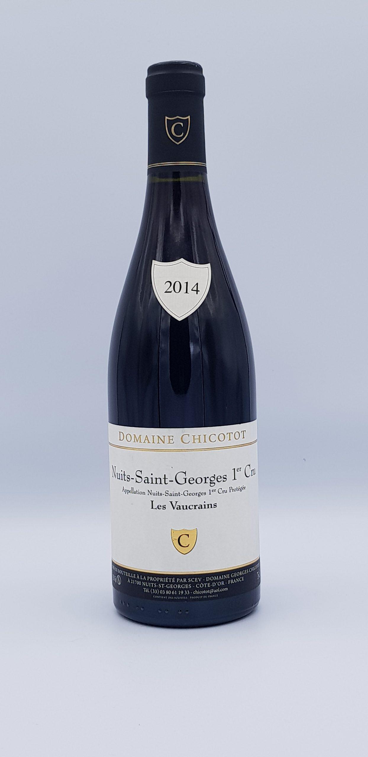 """Nuits Saint Georges 1er Cru """"Les Vaucrains"""" 2014 Rouge"""