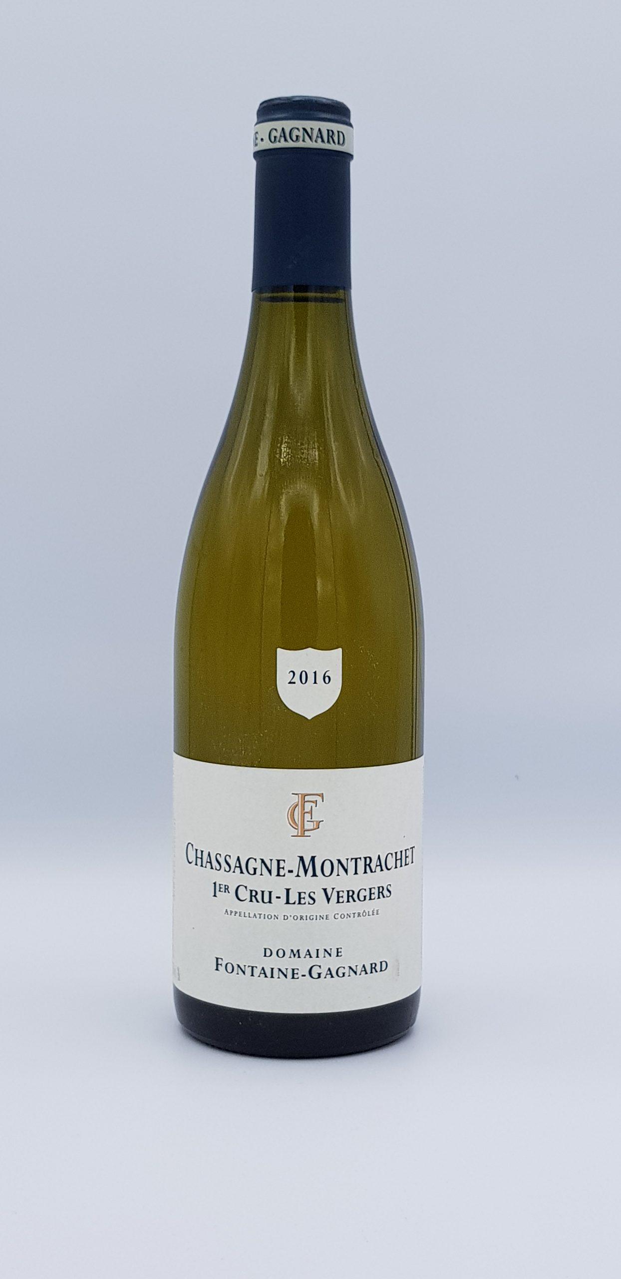 Bourgogne Chassagne Montrachet 2016 Vergers Dom Fontaine Gagnard