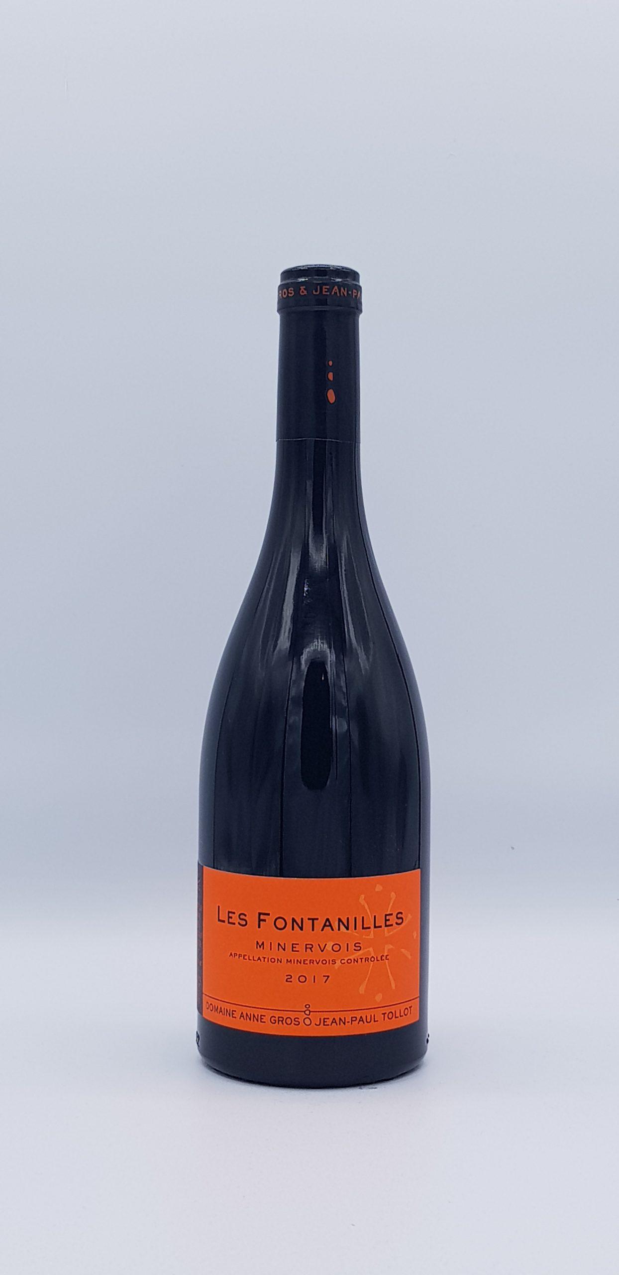 """Minervois """"Les Fontanilles"""" 2017 Rouge"""