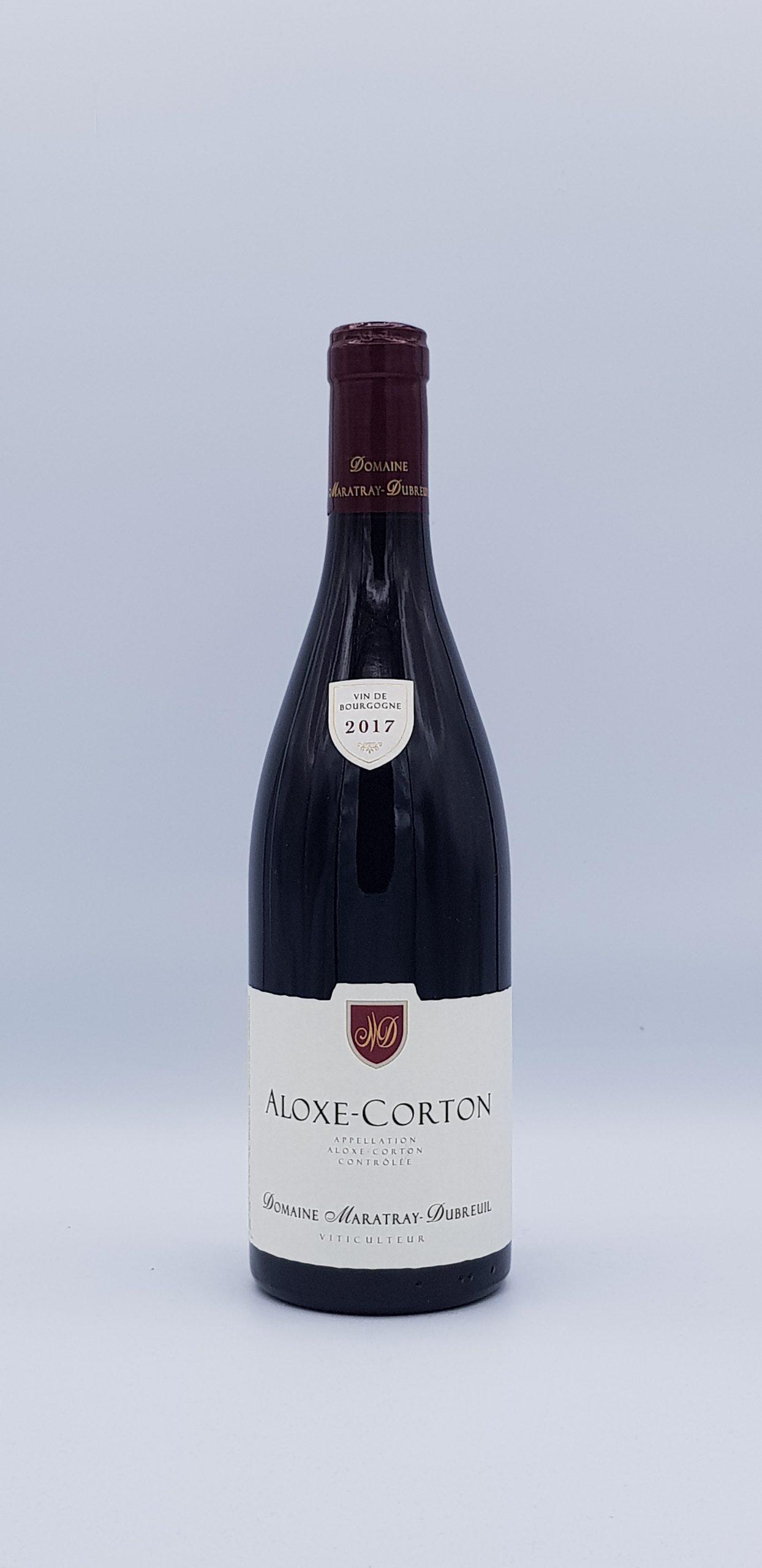 Aloxe Corton 2017 Rouge