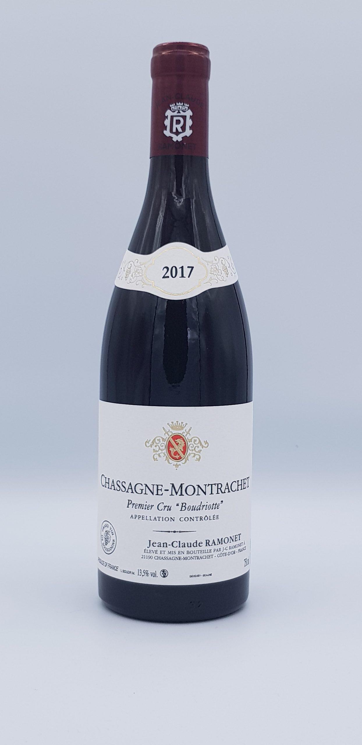 "Chassagne Montrachet 1Er Cru ""Boudriotte"" Rouge 2017"