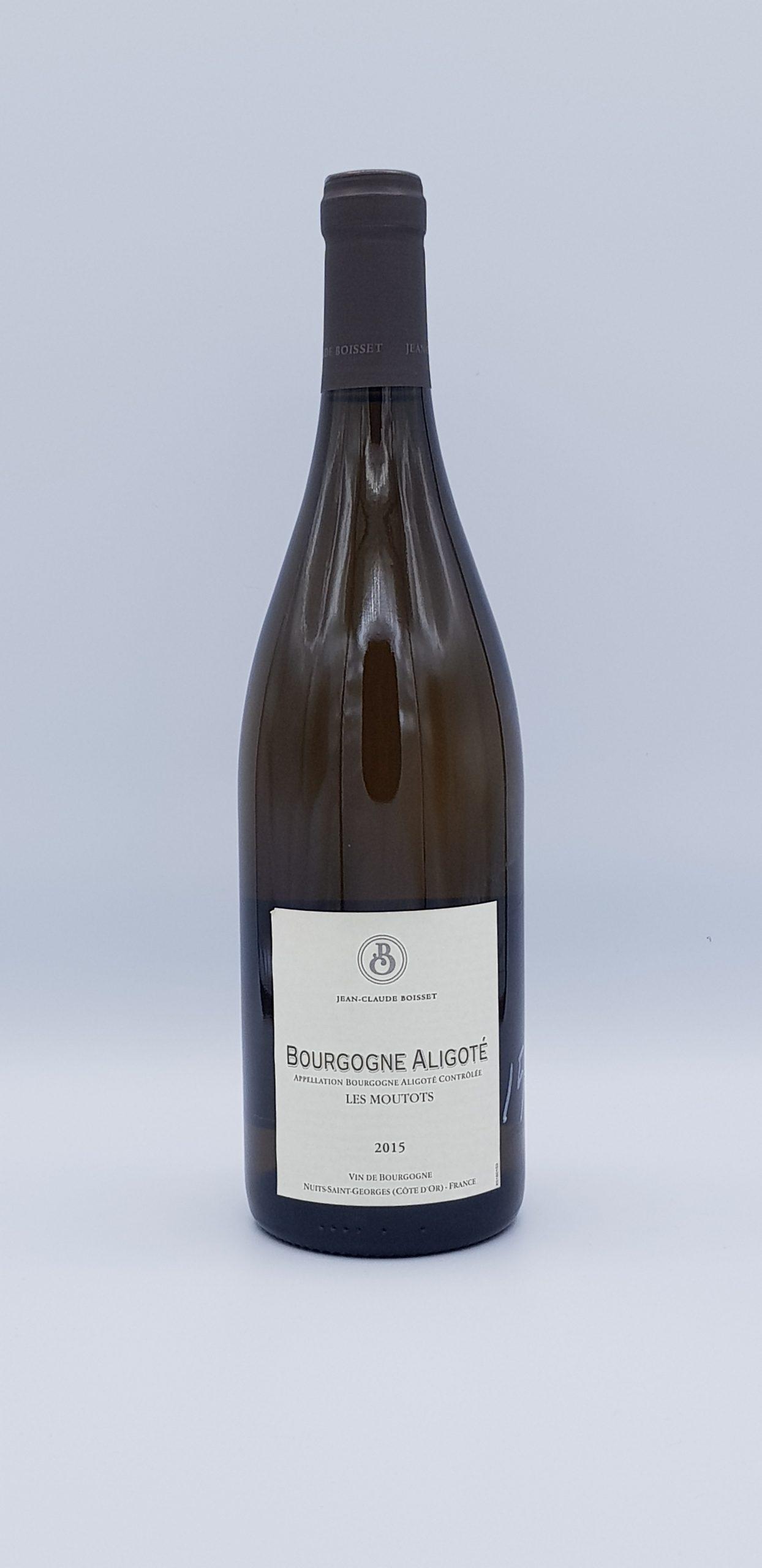 """Bourgogne Aligote """"Les Moutots"""" 2015"""