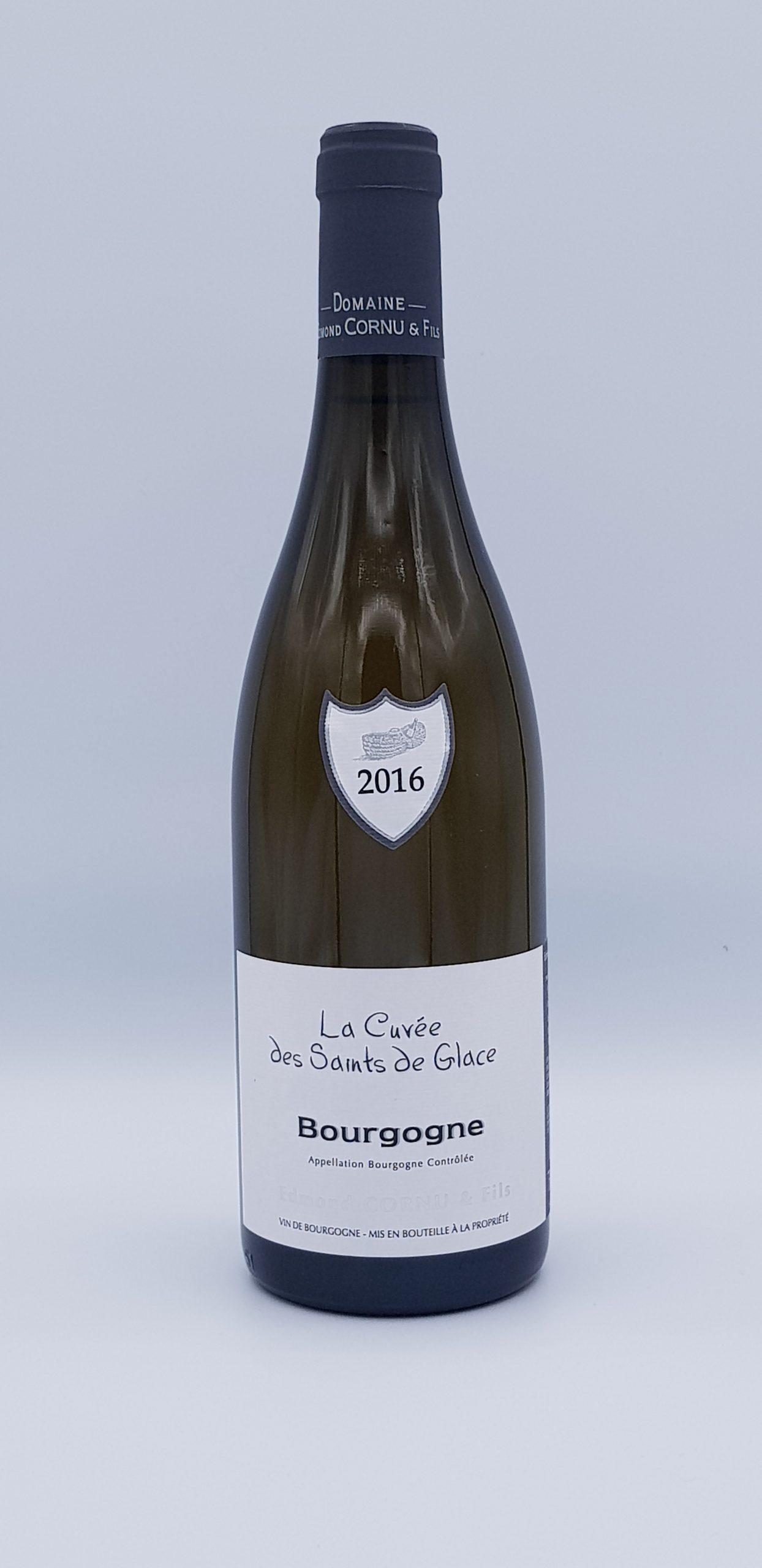 """Bourgogne Blanc """"La Cuvée des Saints Glace"""" 2016"""