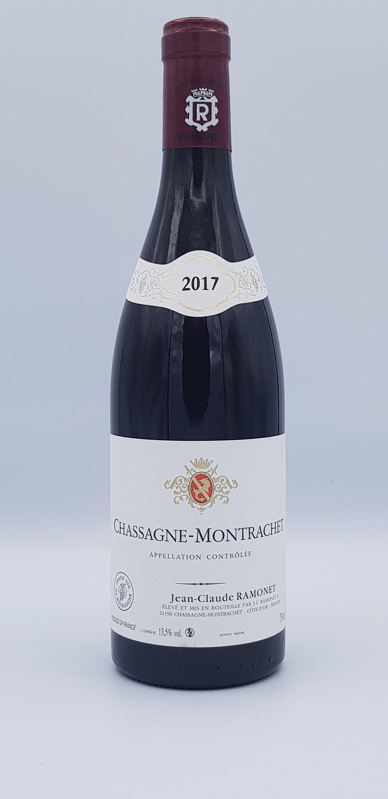 Chassagne Montrachet 2017 Rouge