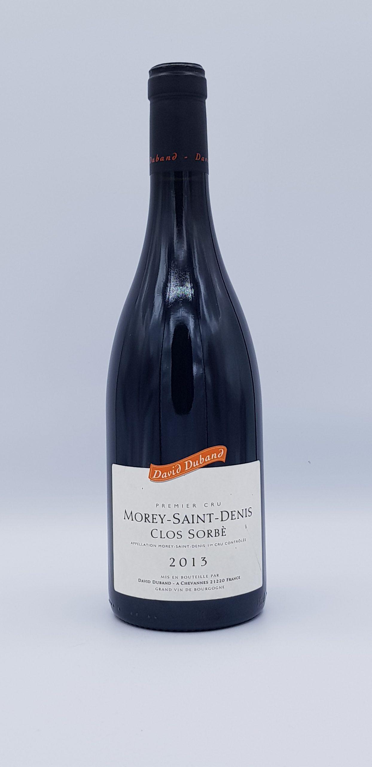 """Morey Saint Denis 1er Cru """"Clos Sorbe"""" 2013 Rouge"""